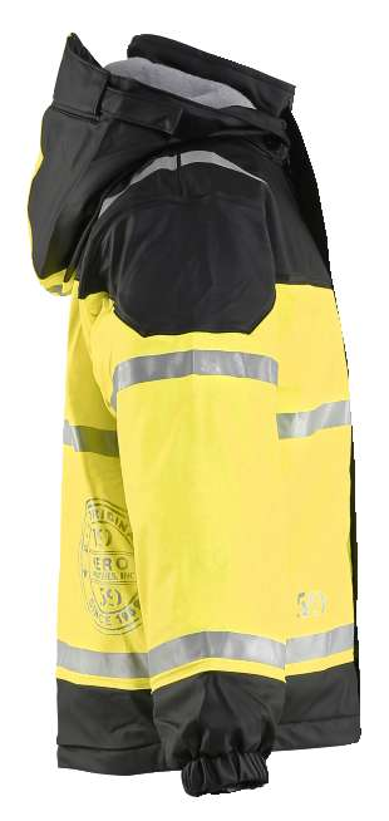 Blaklader Kinderkleding 48602003 fluo geel-donkerblauw(9933)