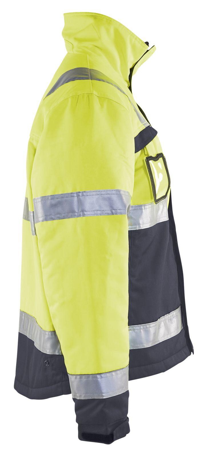 Blaklader Jassen 48621811 High Vis fluo geel-middelgrijs(3396)