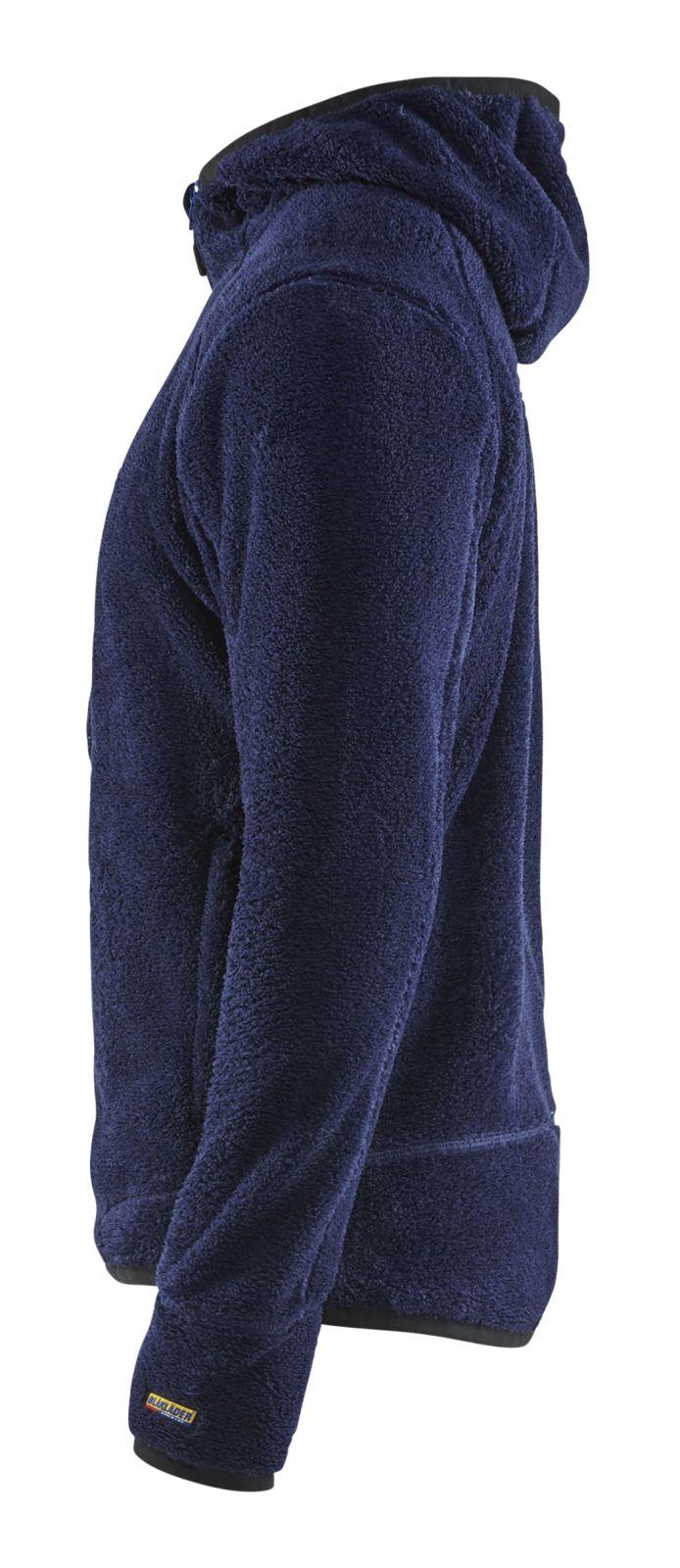 Blaklader Fleece vesten 48632502 marineblauw-korenblauw(8985)