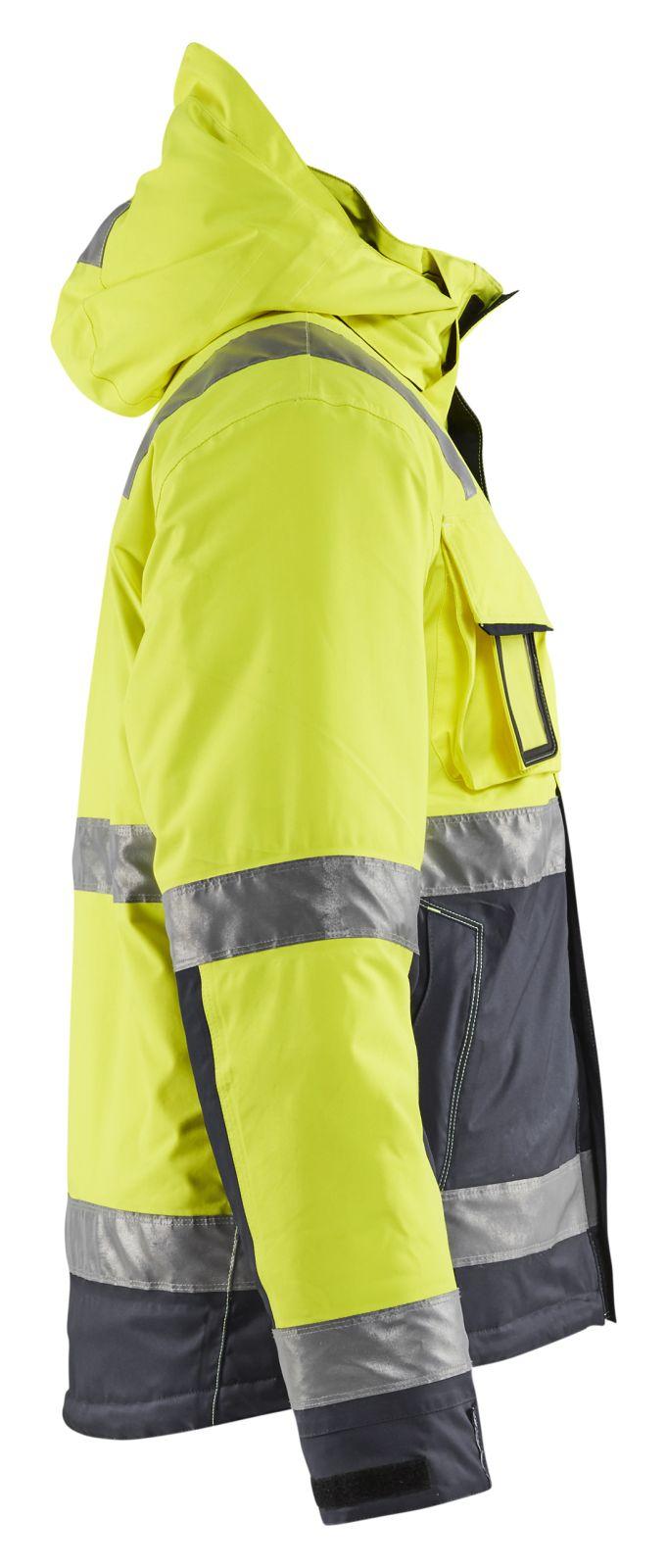 Blaklader Jassen 48701987 High Vis fluo geel-middelgrijs(3396)