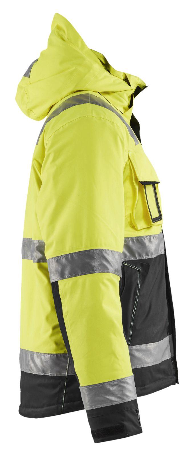 Blaklader Winterjassen 48701987 High Vis Stretch geel-zwart(3399)