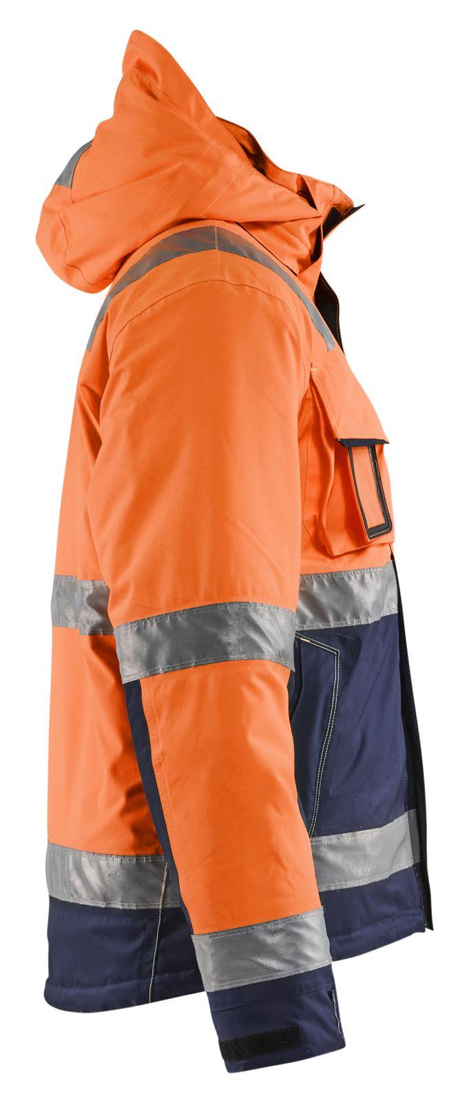 Blaklader Jassen 48701987 High Vis fluo oranje-marineblauw(5389)
