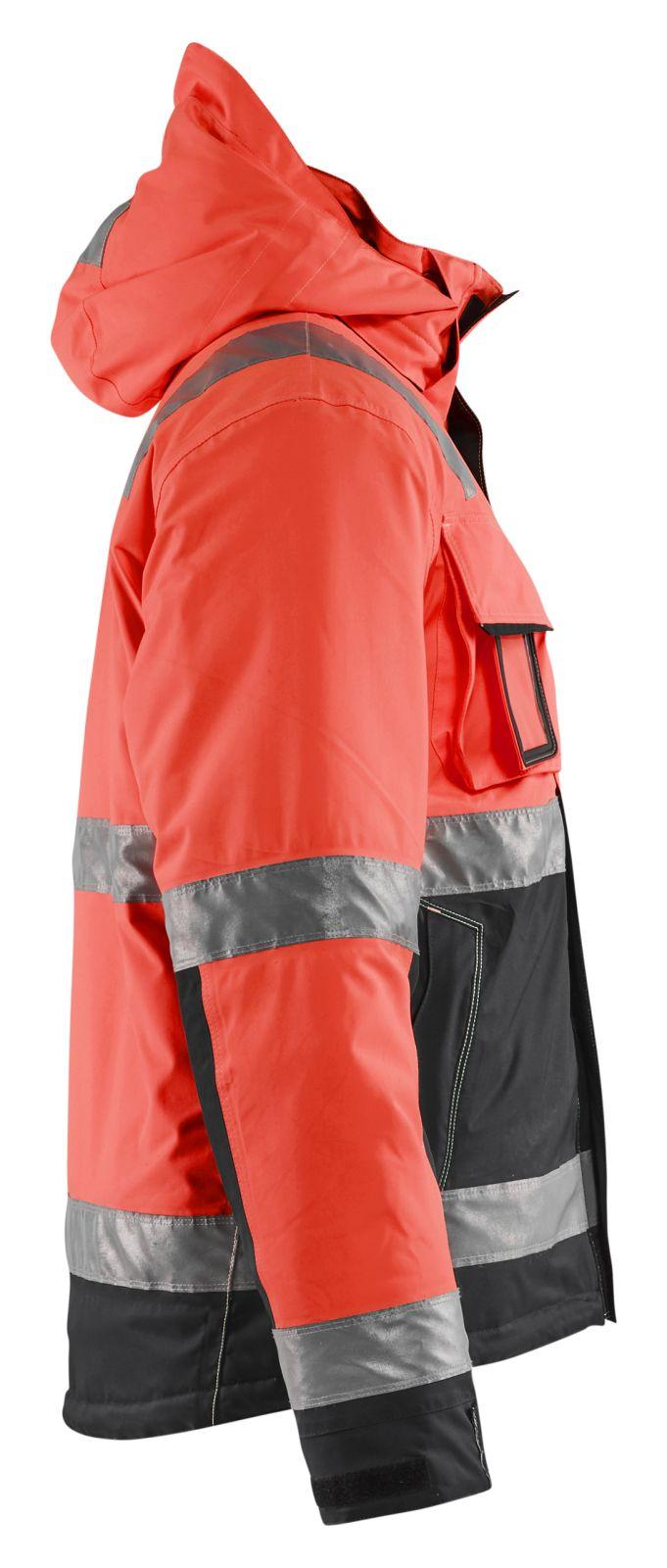 Blaklader Jassen 48701987 High Vis fluo rood-zwart(5599)