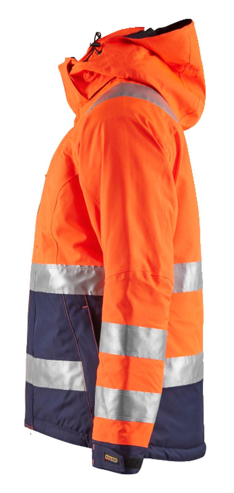 Blaklader Dames winterjacks 48721987 High Vis oranje-marineblauw(5389)