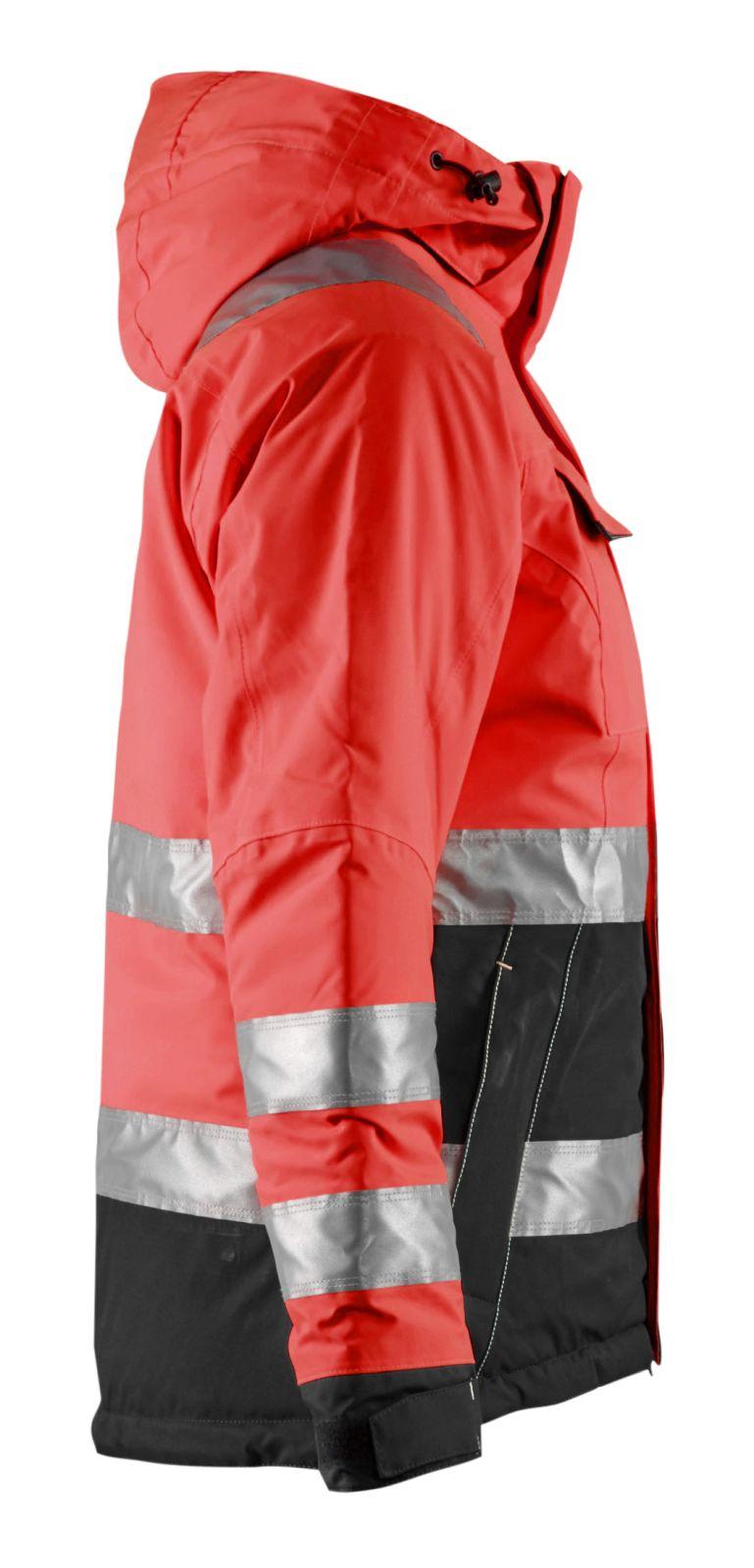 Blaklader Jassen 48721987 High Vis fluo rood-zwart(5599)
