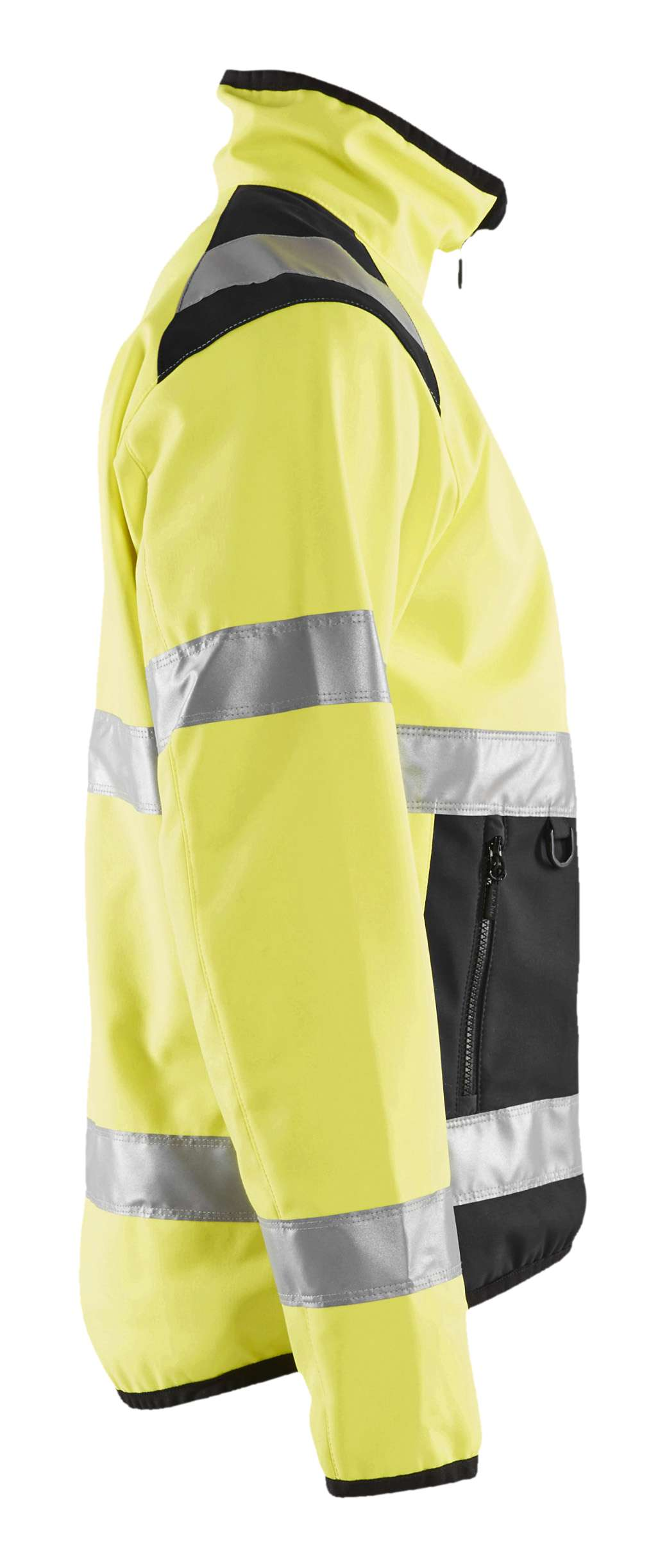 Blaklader Softshell jacks 48772516 High Vis geel-zwart(3399)