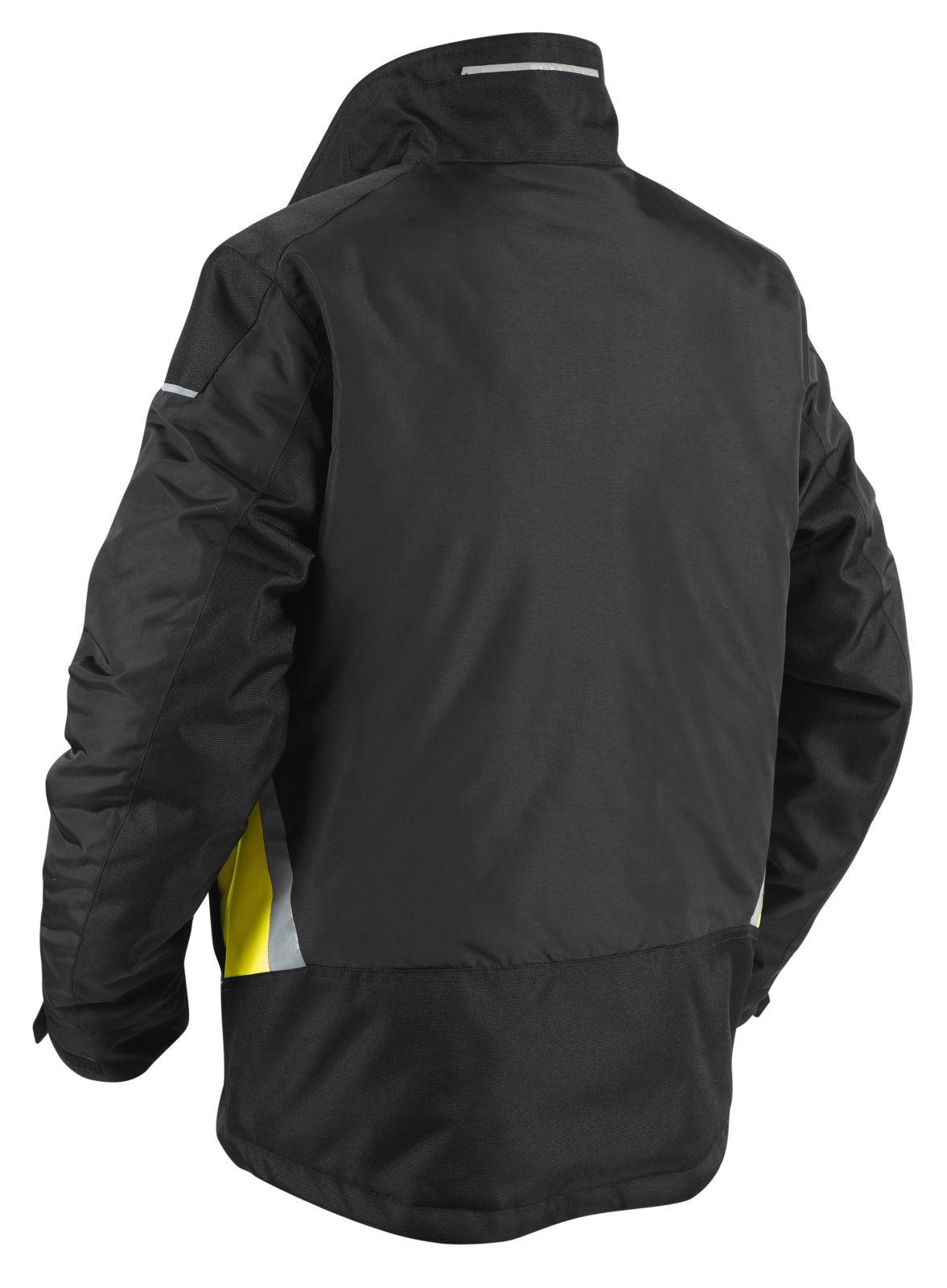 Blaklader Jassen 48831961 zwart-geel(9933)