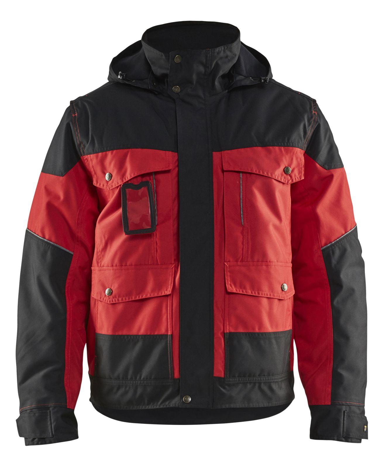 Blaklader Winterjassen 48861977 rood-zwart(5699)