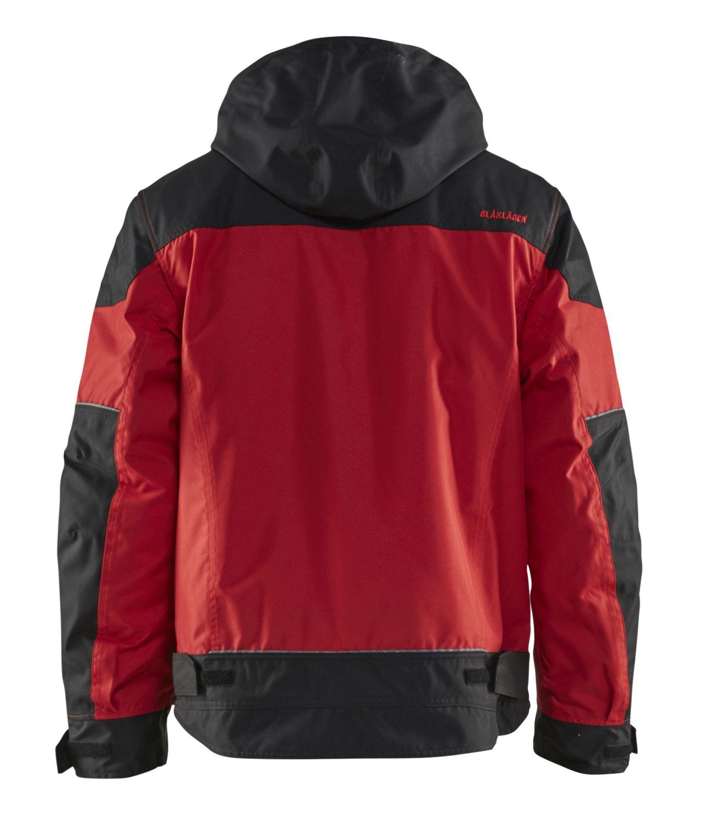 Blaklader Jassen 48861977 rood-zwart(5699)