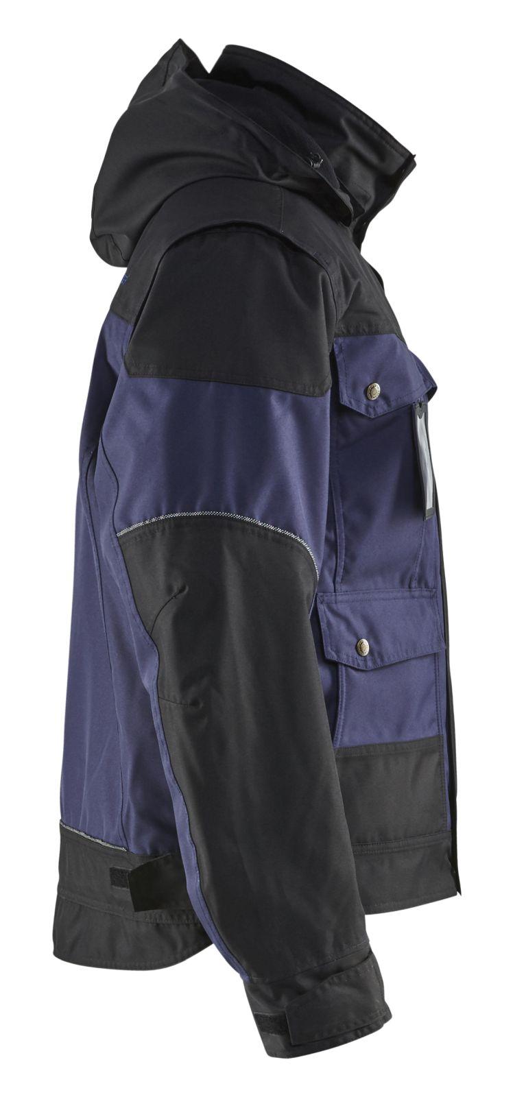 Blaklader Jassen 48861977 marineblauw-zwart(8999)