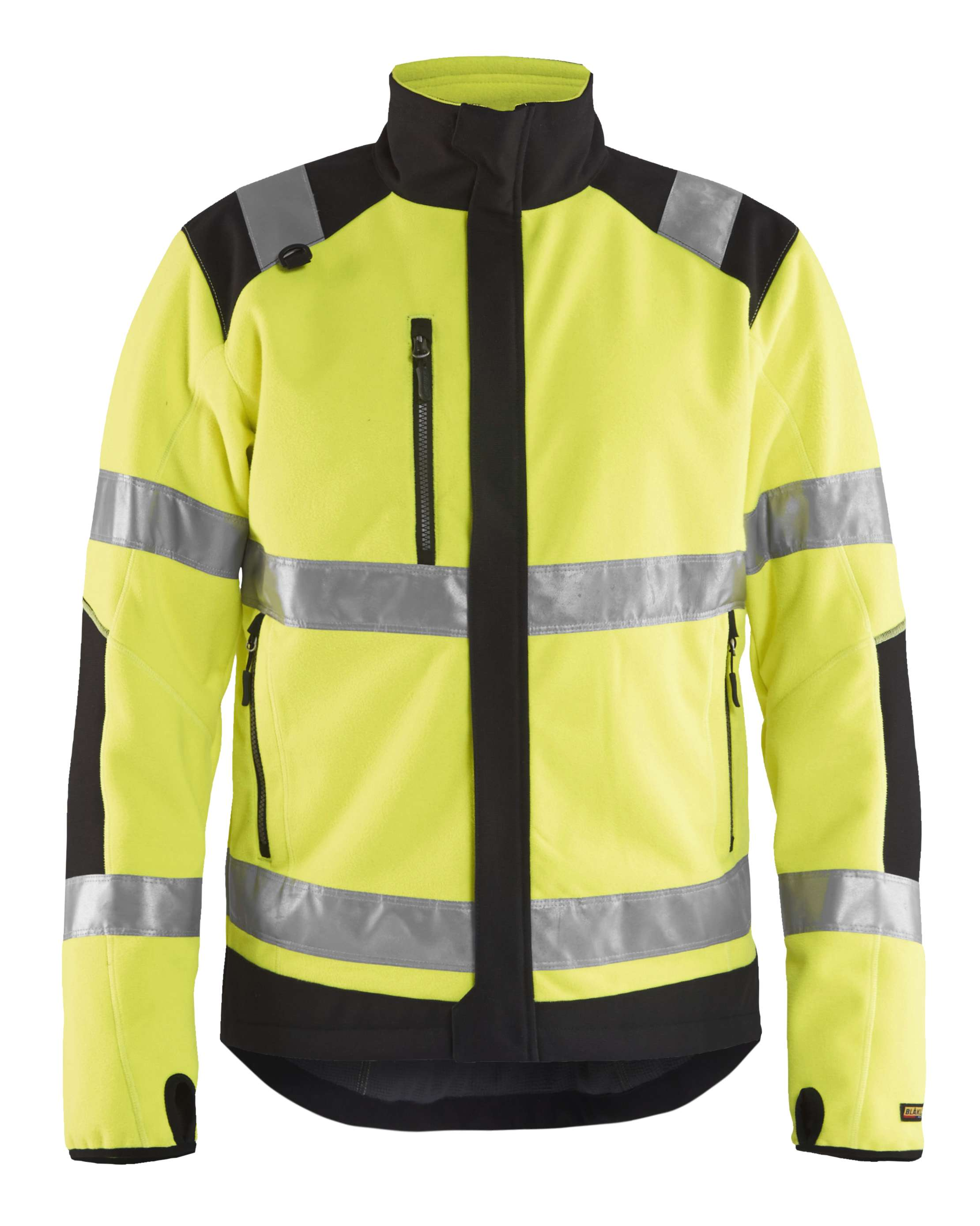 Blaklader Fleece jassen 48882524 High Vis geel-zwart(3399)