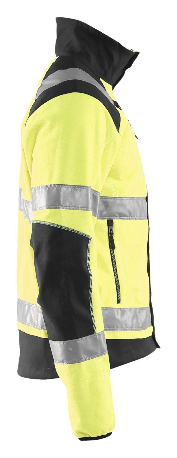 Blaklader Fleece jassen 48882524 High Vis geel-zwart(3399)