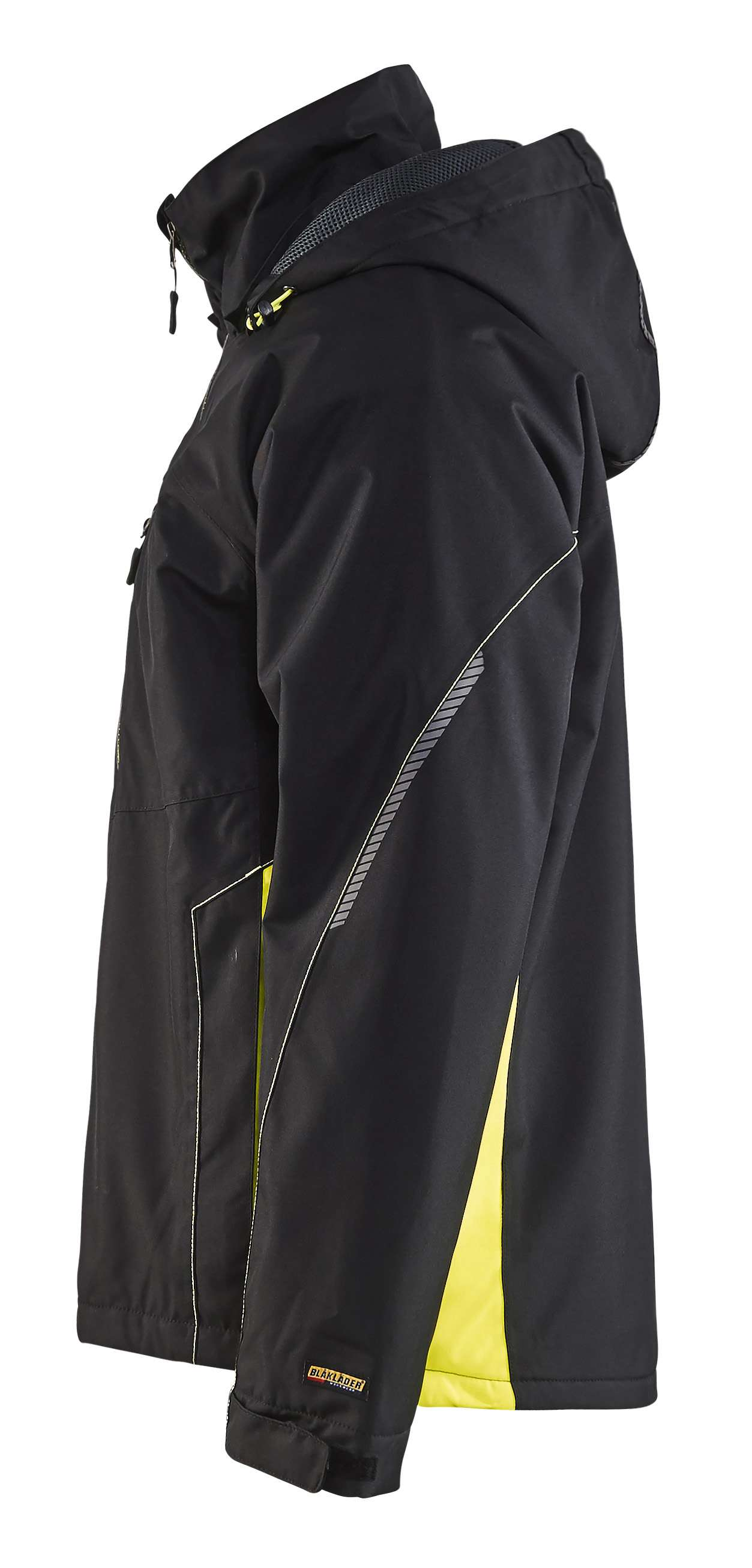 Blaklader Jassen 48901977 zwart-geel(9933)