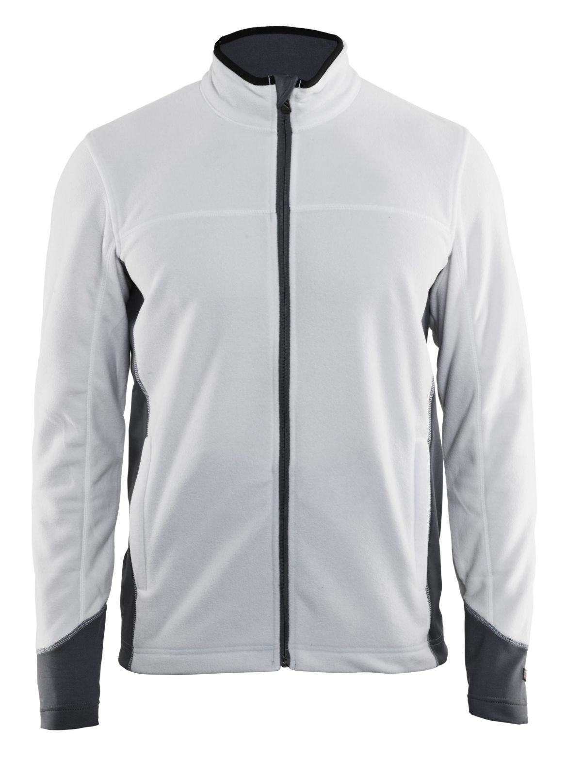 Blaklader Fleece vesten 48951010 wit-grijs(1094)