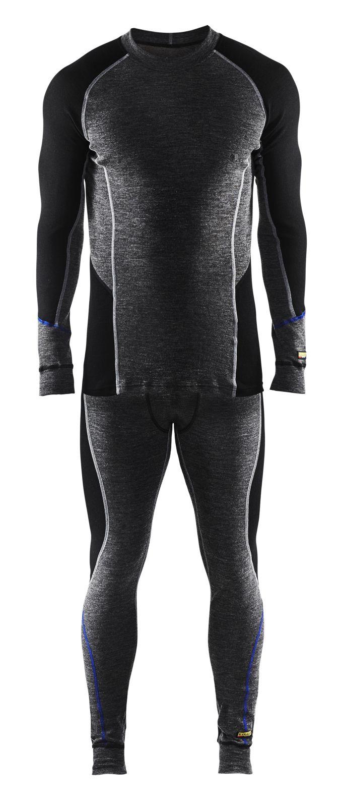 Blaklader Onderhemden 48971732 grijs-zwart(9699)
