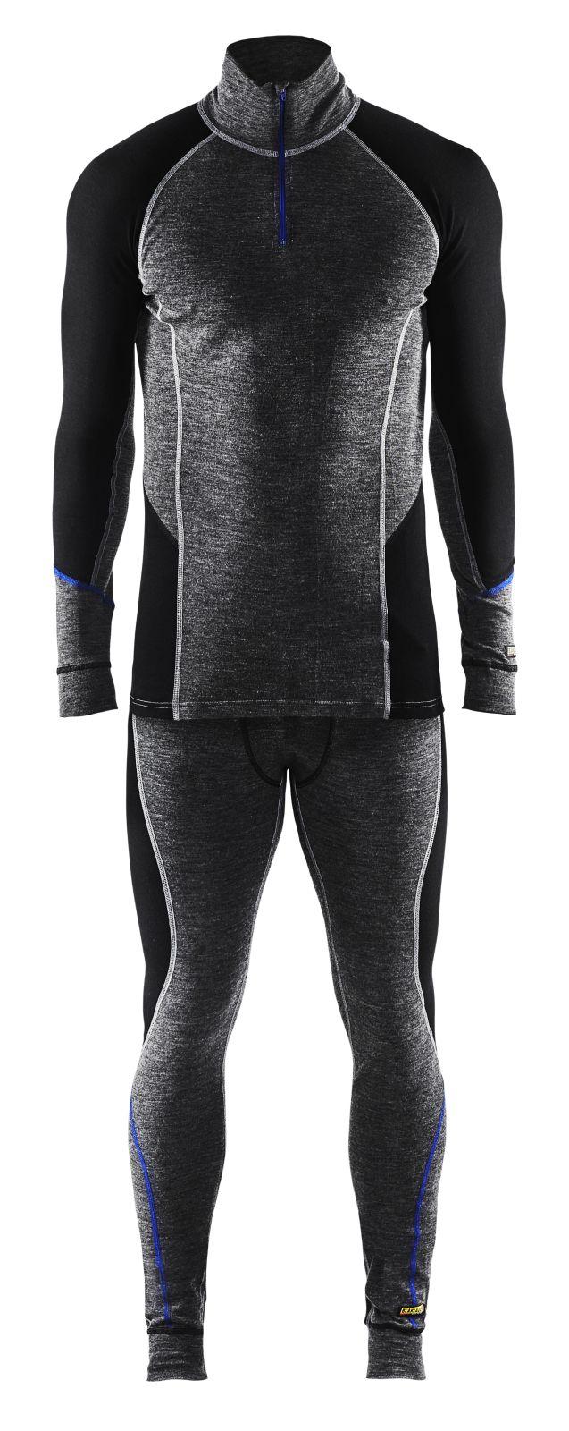 Blaklader Ondershirts 48991732 grijs-zwart(9699)