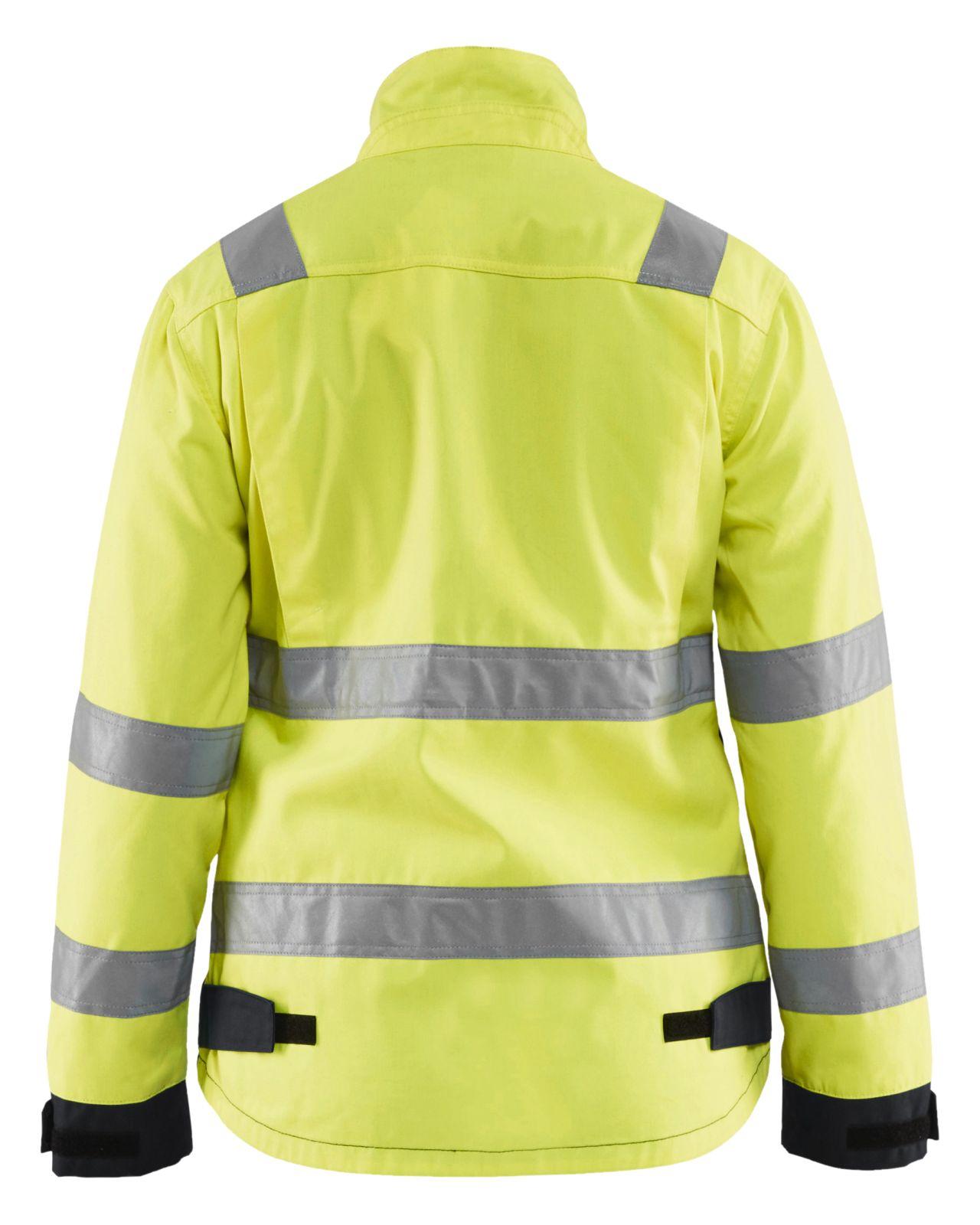 Blaklader Dames werkjacks 49031811 High Vis geel-zwart(3399)