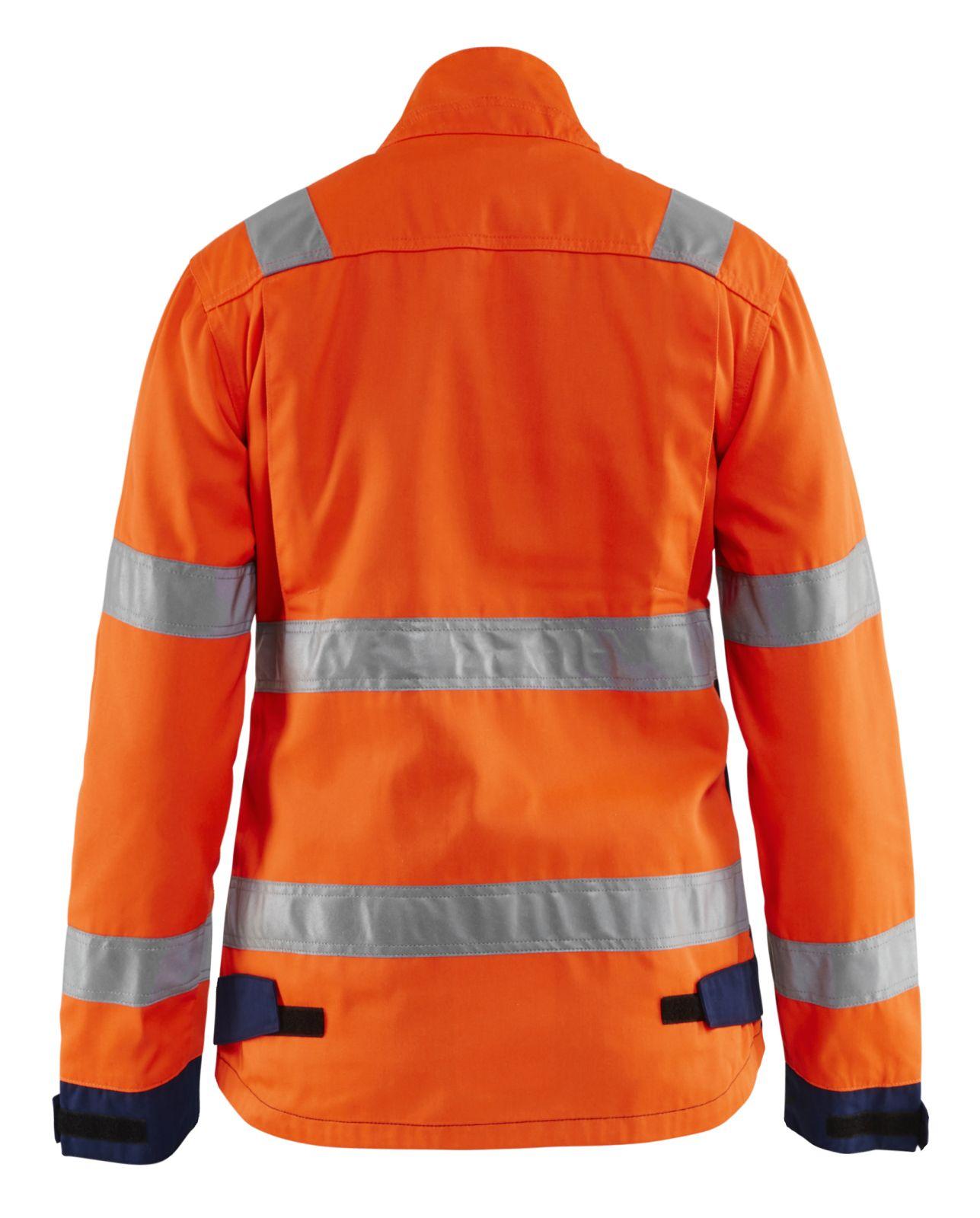 Blaklader Dames werkjacks 49031811 High Vis oranje-marineblauw(5389)