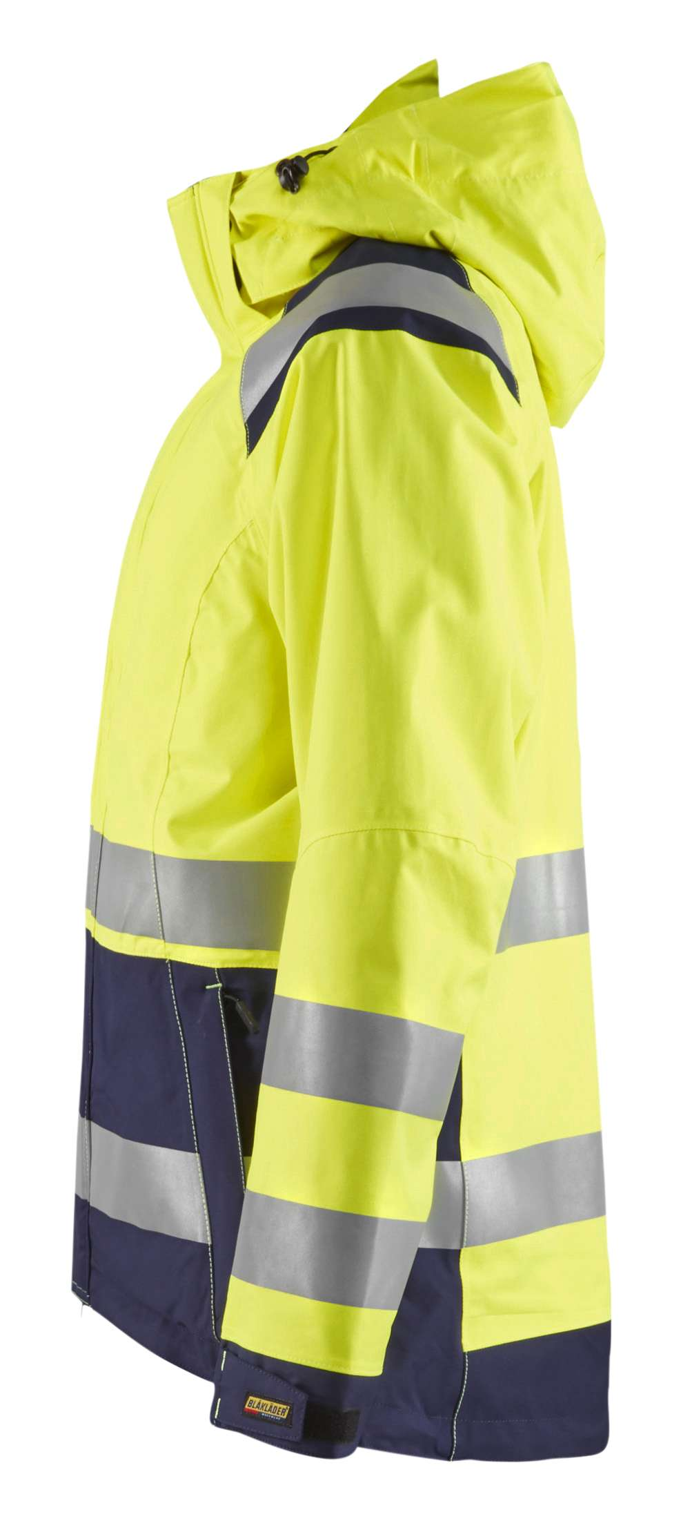 Blaklader Dames regenjacks 49041987 High Vis geel-marineblauw(3389)