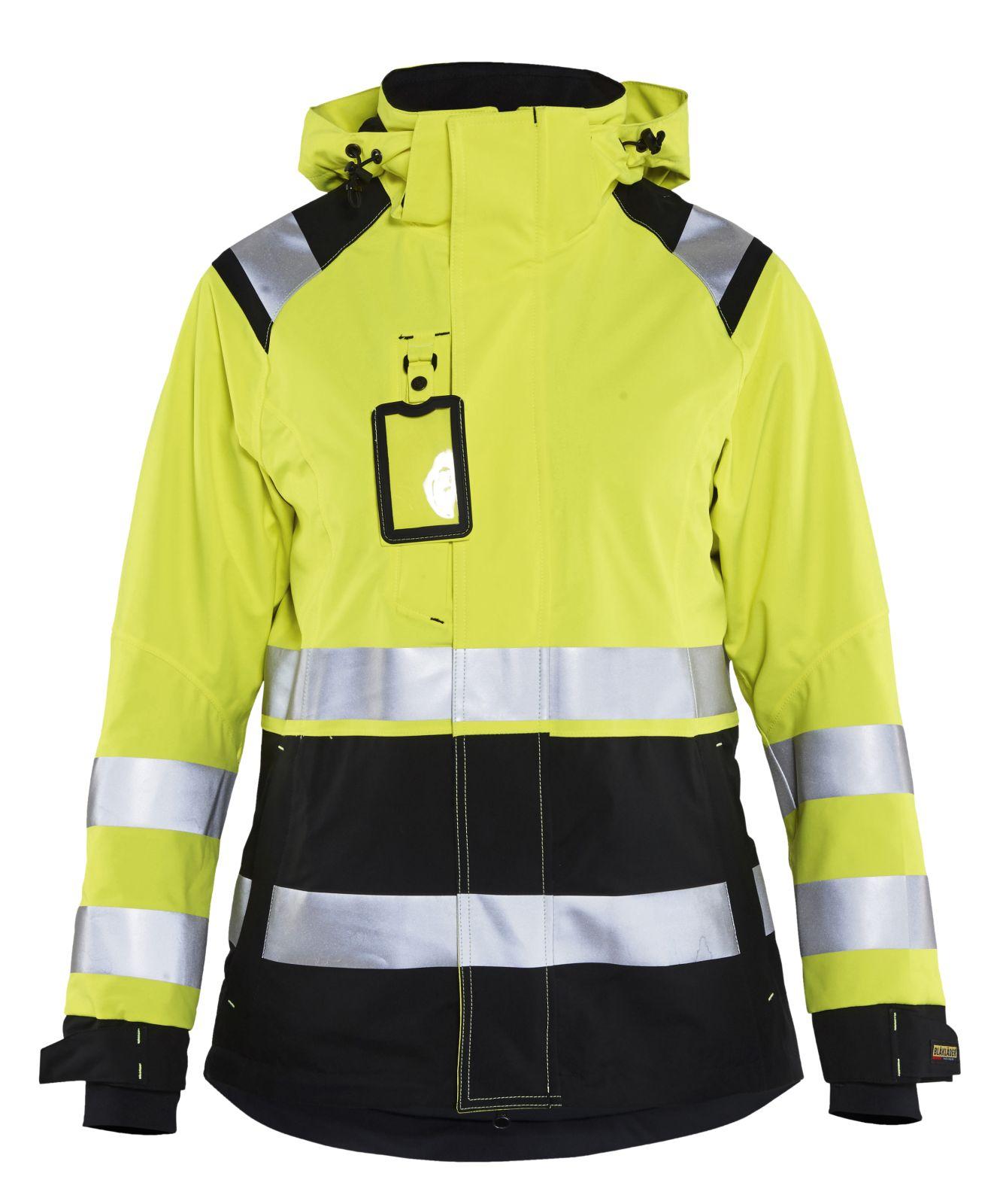 Blaklader Dames regenjacks 49041987 High Vis geel-zwart(3399)