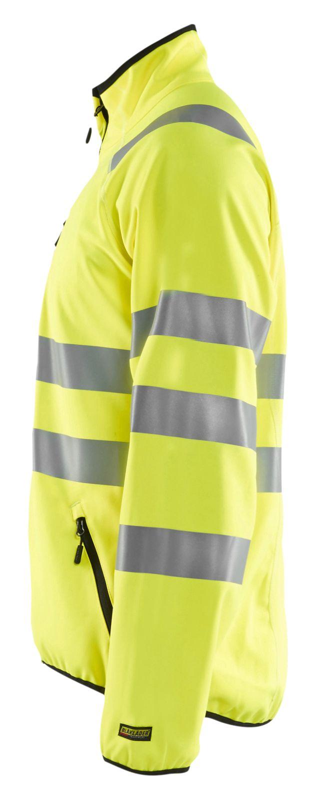 Blaklader Softshell jacks 49062512 High Vis geel(3300)