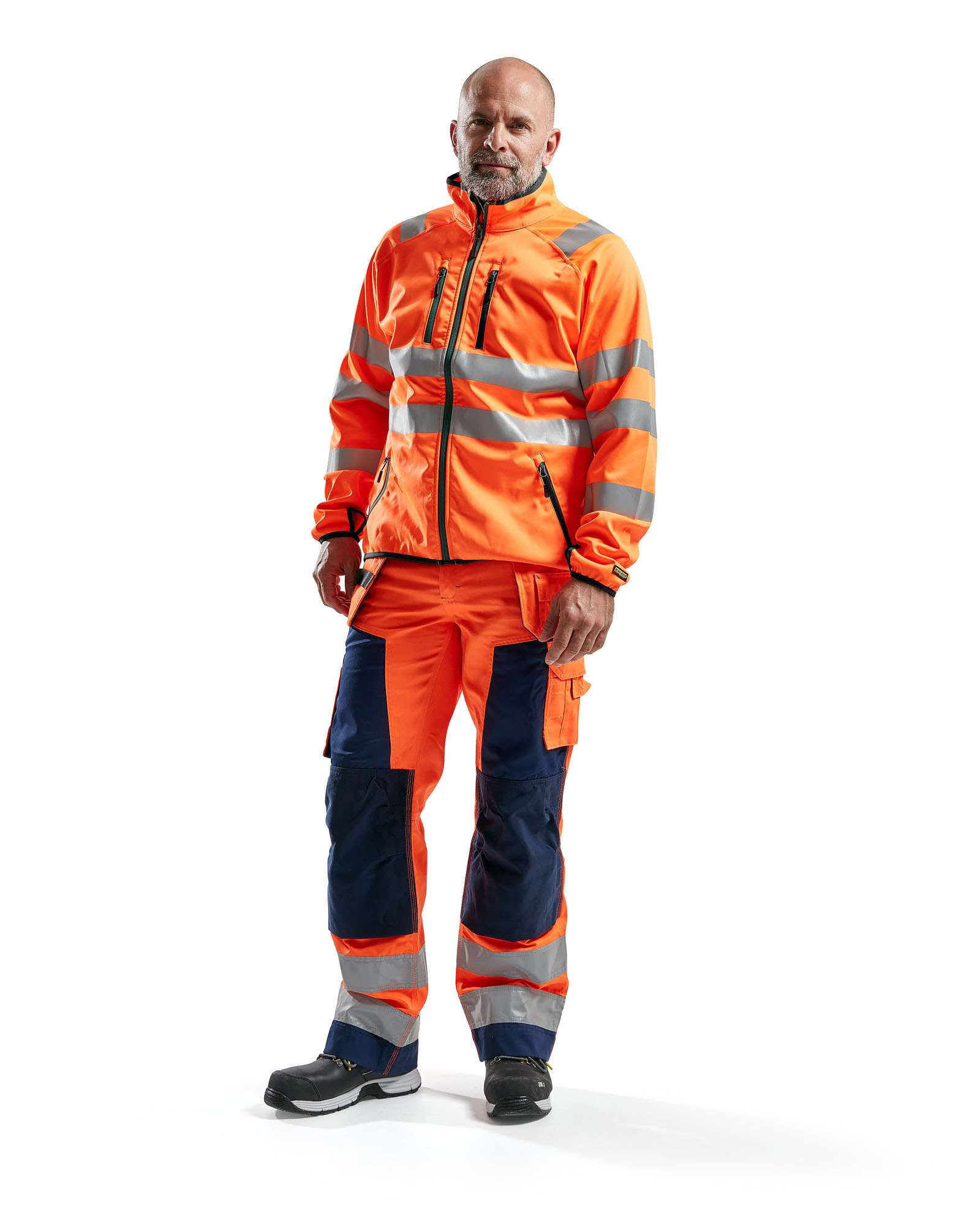 Blaklader Softshell jacks 49062512 High Vis oranje(5300)