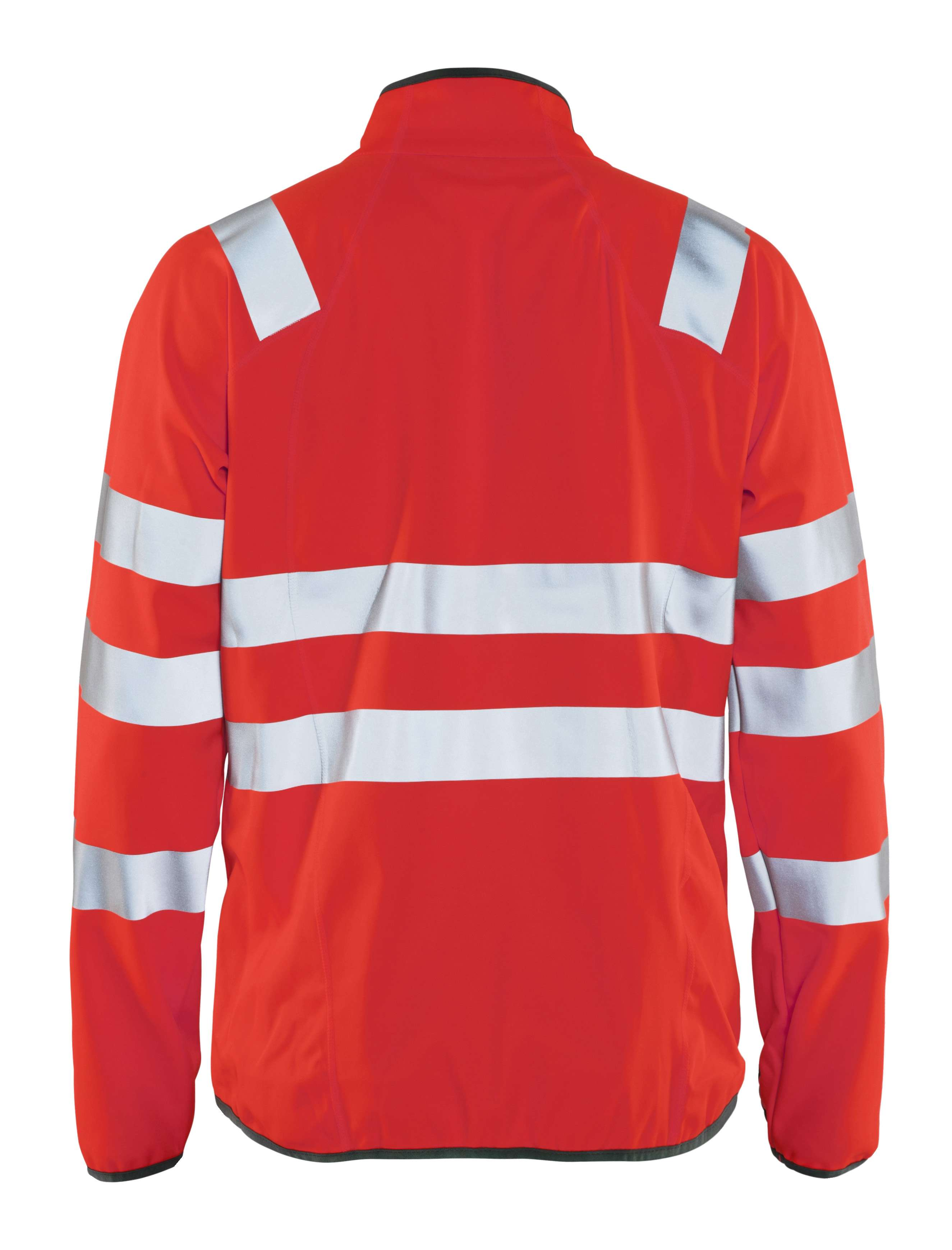 Blaklader Softshell jacks 49062512 High Vis fluo-rood(5500)