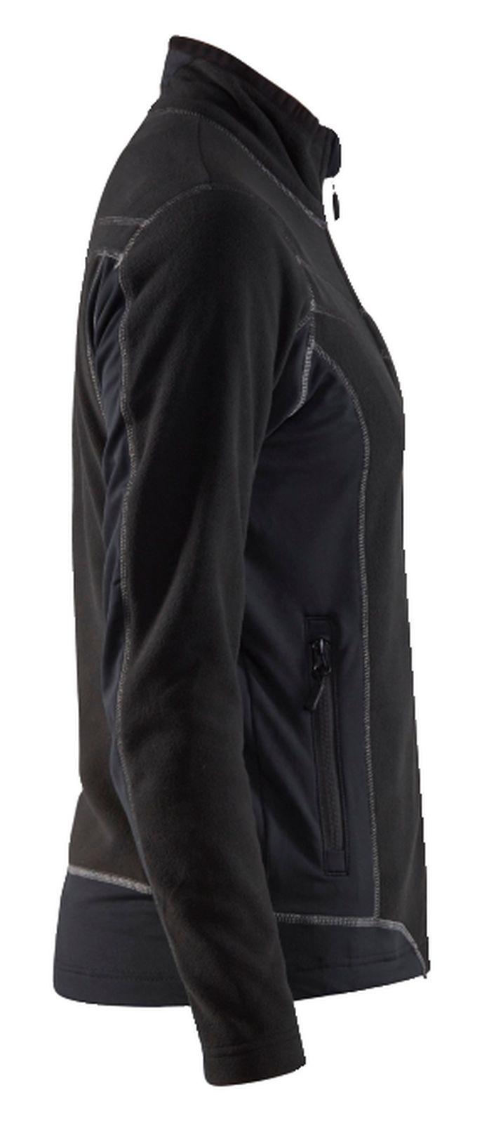 Blaklader Dames fleece vesten 49241010 zwart(9900)