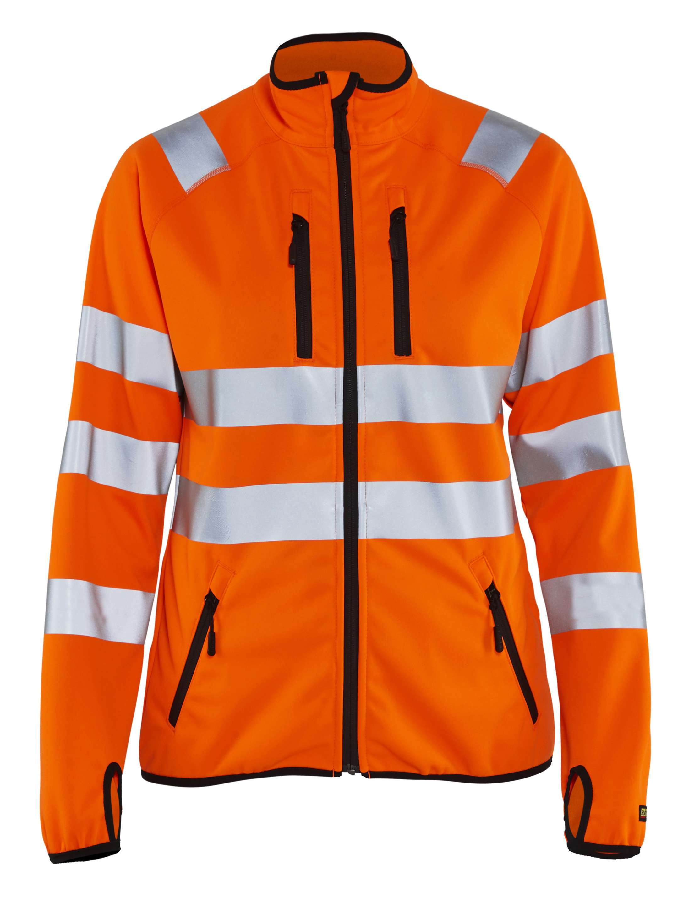 Blaklader Dames softshell jacks 49262512 High Vis oranje(5300)