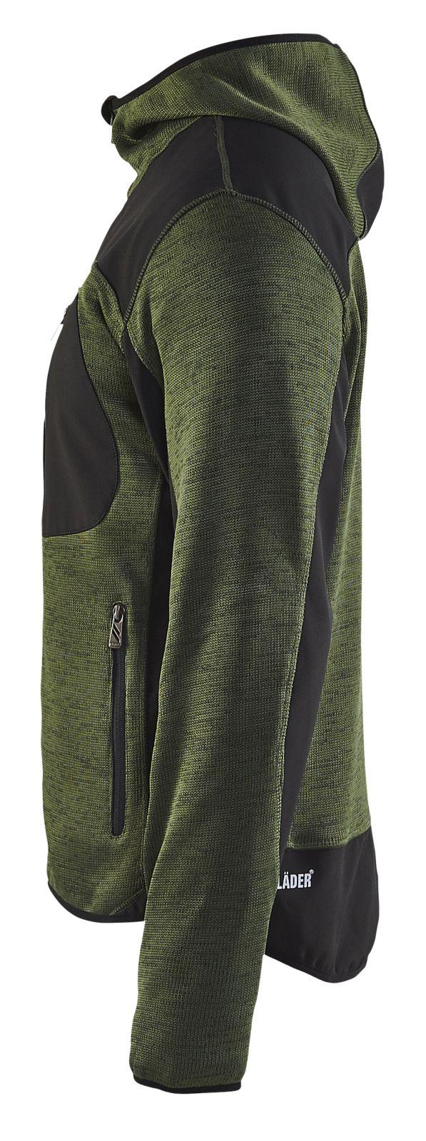 Blaklader Vesten 49302117 army groen-zwart(4699)