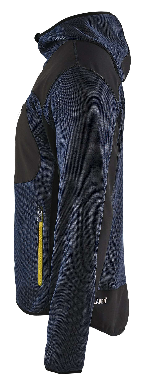 Blaklader Vesten 49302117 donkerblauw-geel(8635)