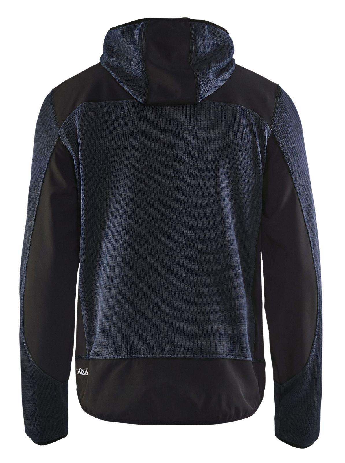 Blaklader Gebreide vesten 49302117 donker marineblauw-zwart(8699)