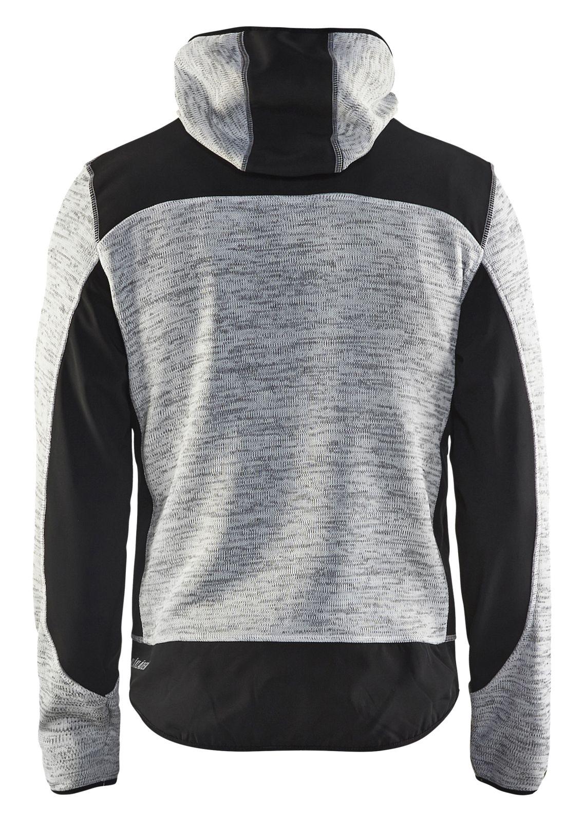 Blaklader Gebreide vesten 49302117 grijs mêlee-zwart(9099)