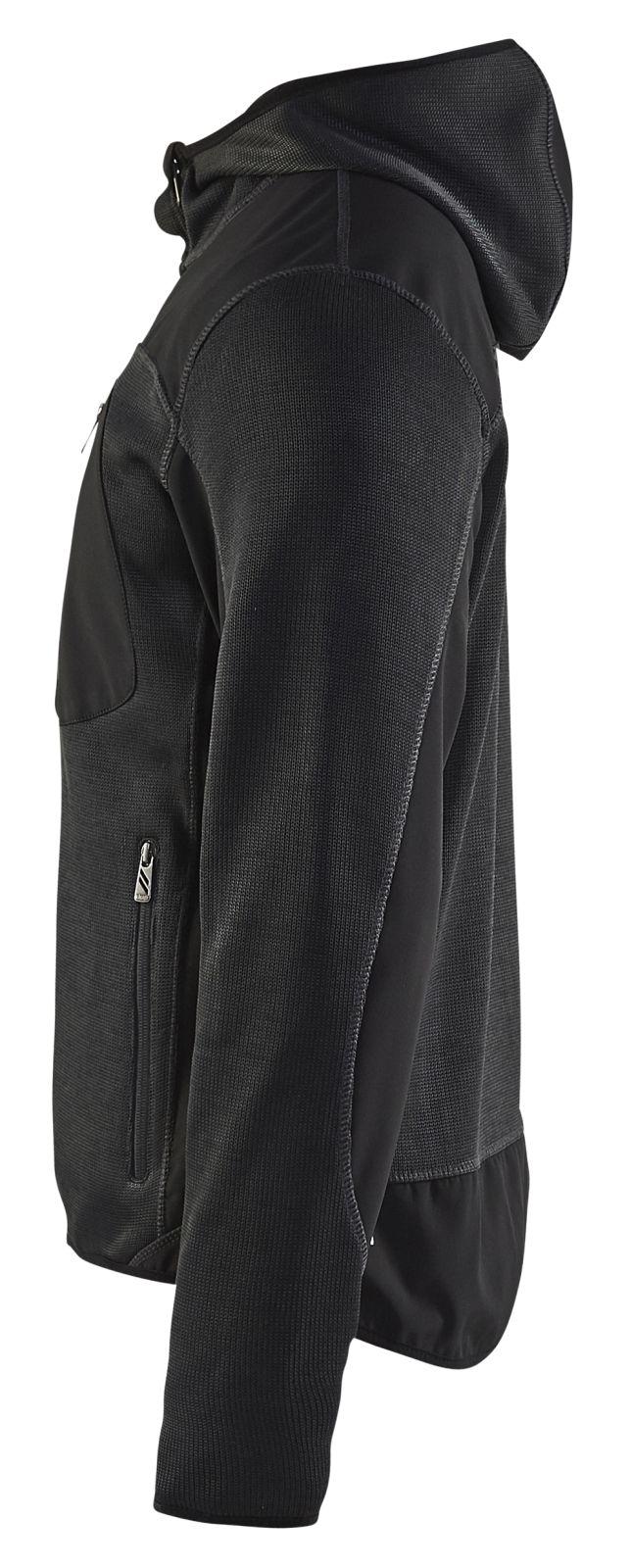 Blaklader Gebreide vesten 49302117 donkergrijs-zwart(9799)