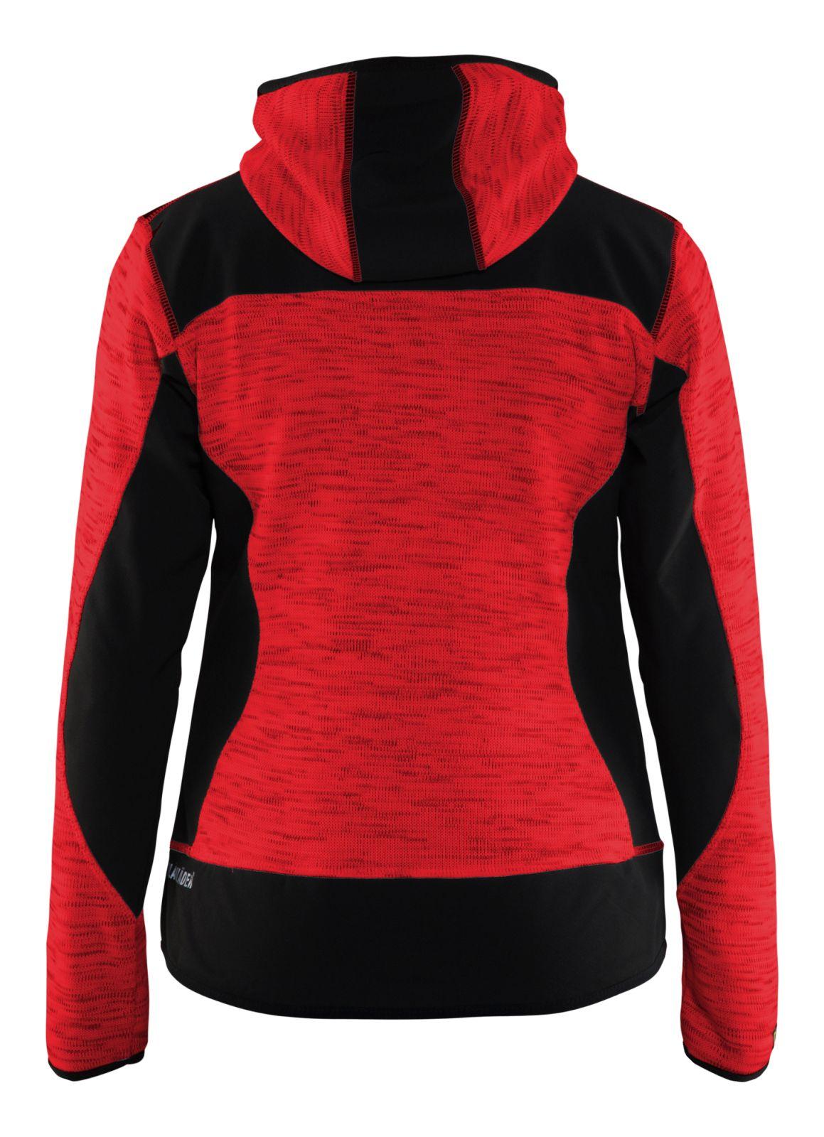 Blaklader Vesten 49312117 rood-zwart(5699)