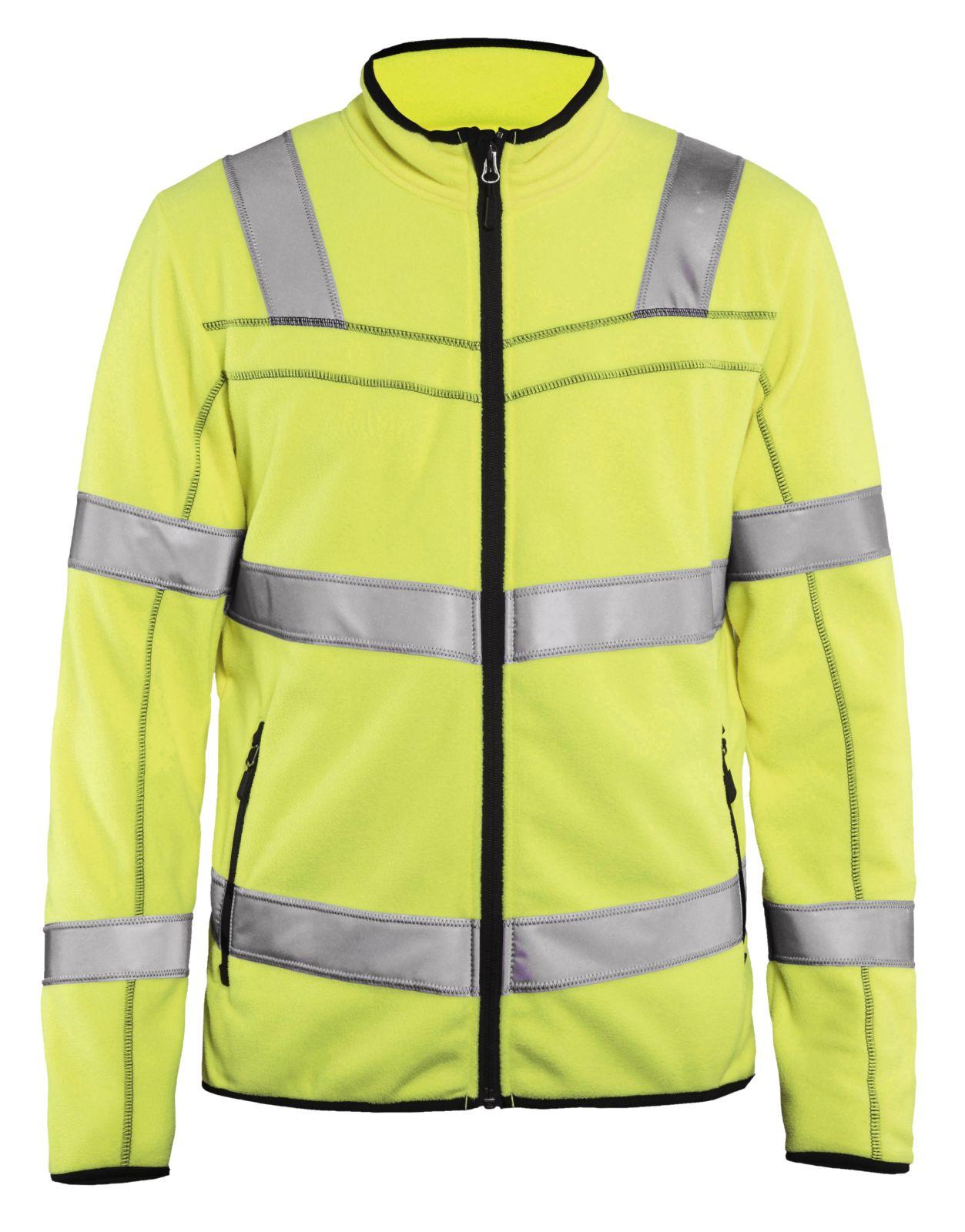 Blaklader Fleece vesten 49411010 High Vis geel(3300)