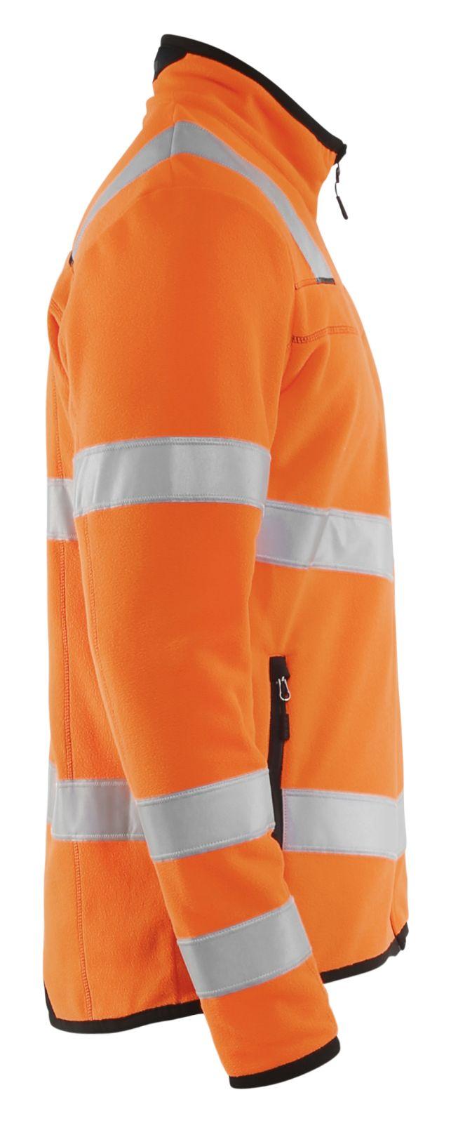 Blaklader Fleece vesten 49411010 High Vis oranje(5300)