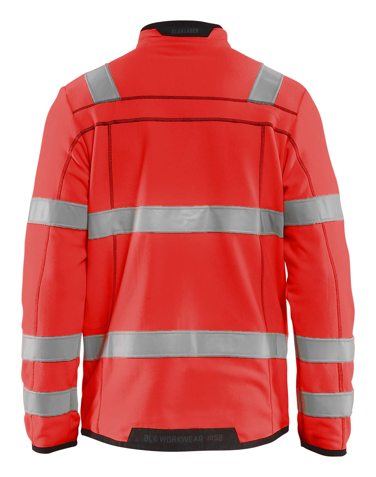 Blaklader Fleece vesten 49411010 High Vis fluo-rood(5500)
