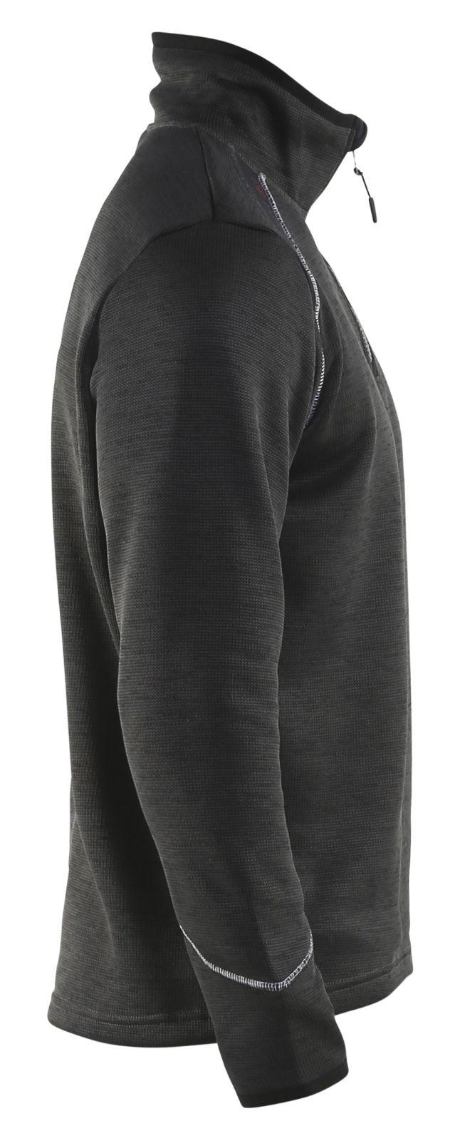 Blaklader Gebreide sweatshirts 49432117 antraciet-wit(9710)