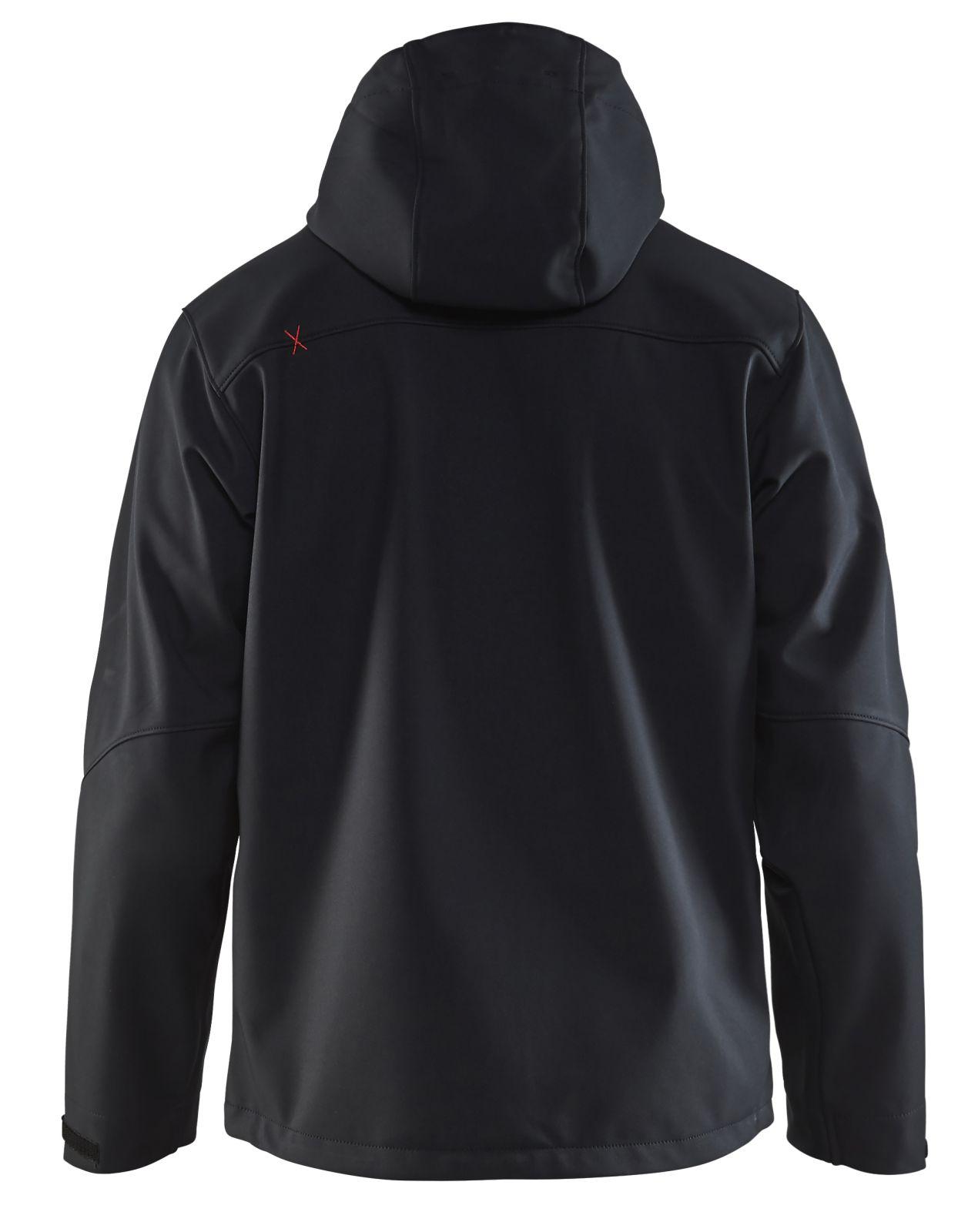 Blaklader Jassen 49492517 zwart-rood(9956)