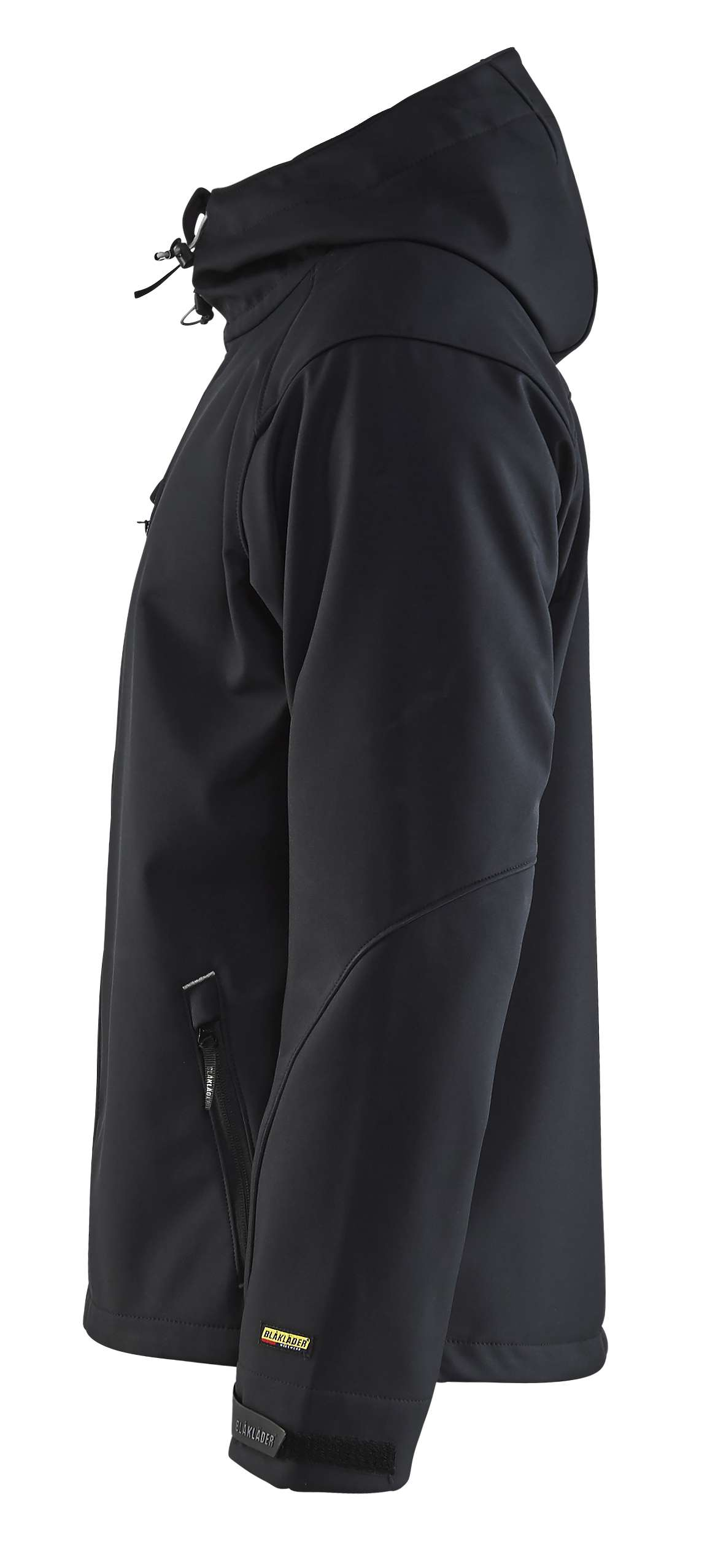Blaklader Softshell jacks 49492517 zwart-zilver(9992)