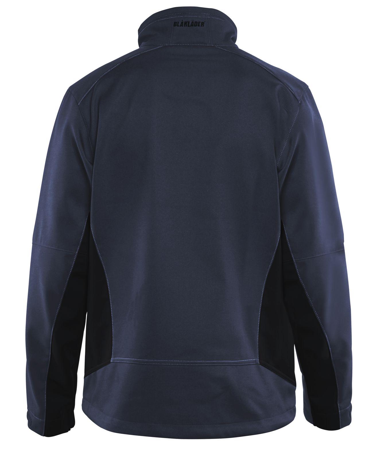 Blaklader Softshell jacks 49502516 donker marineblauw-zwart(8699)
