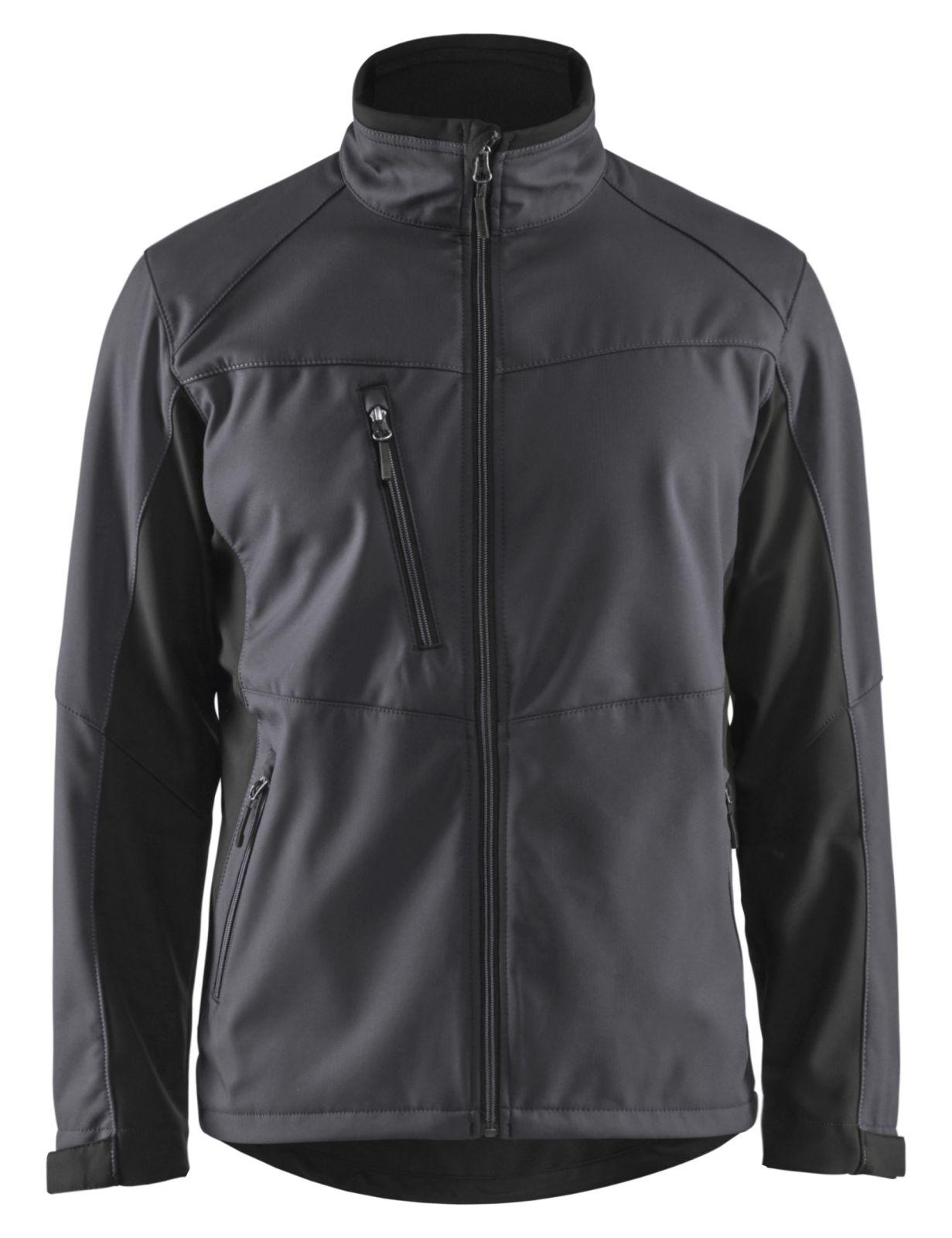 Blaklader Softshell jacks 49502516 grijs-zwart(9699)