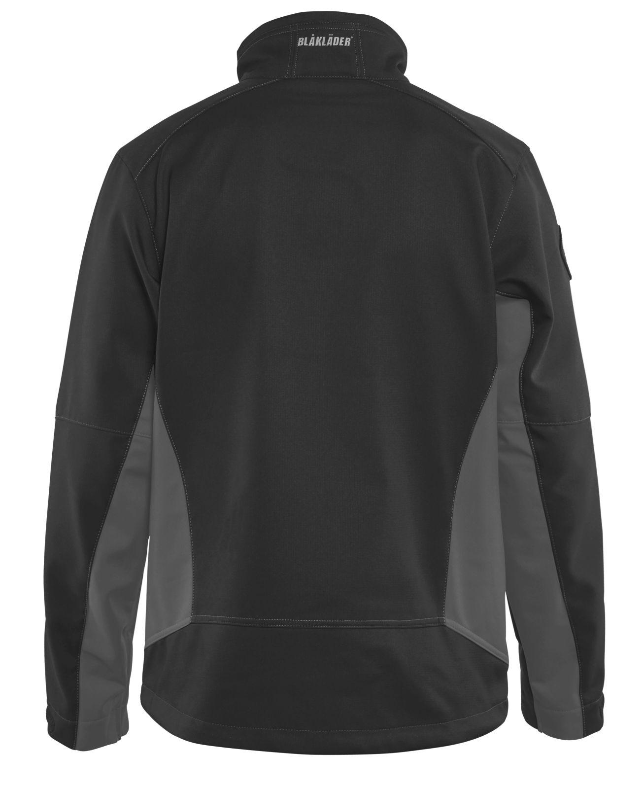 Blaklader Softshell jacks 49502516 zwart-grijs(9998)