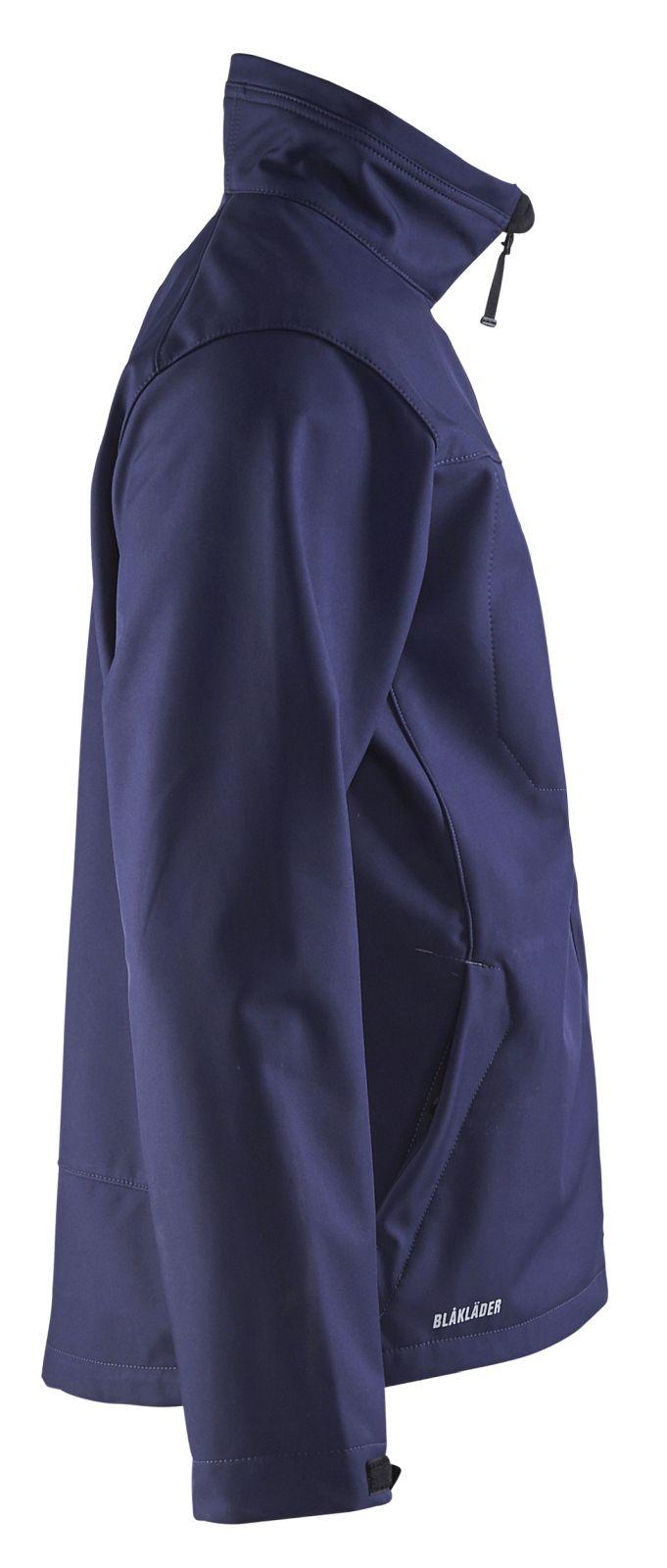 Blaklader Softshell jacks 49512517 marineblauw(8900)