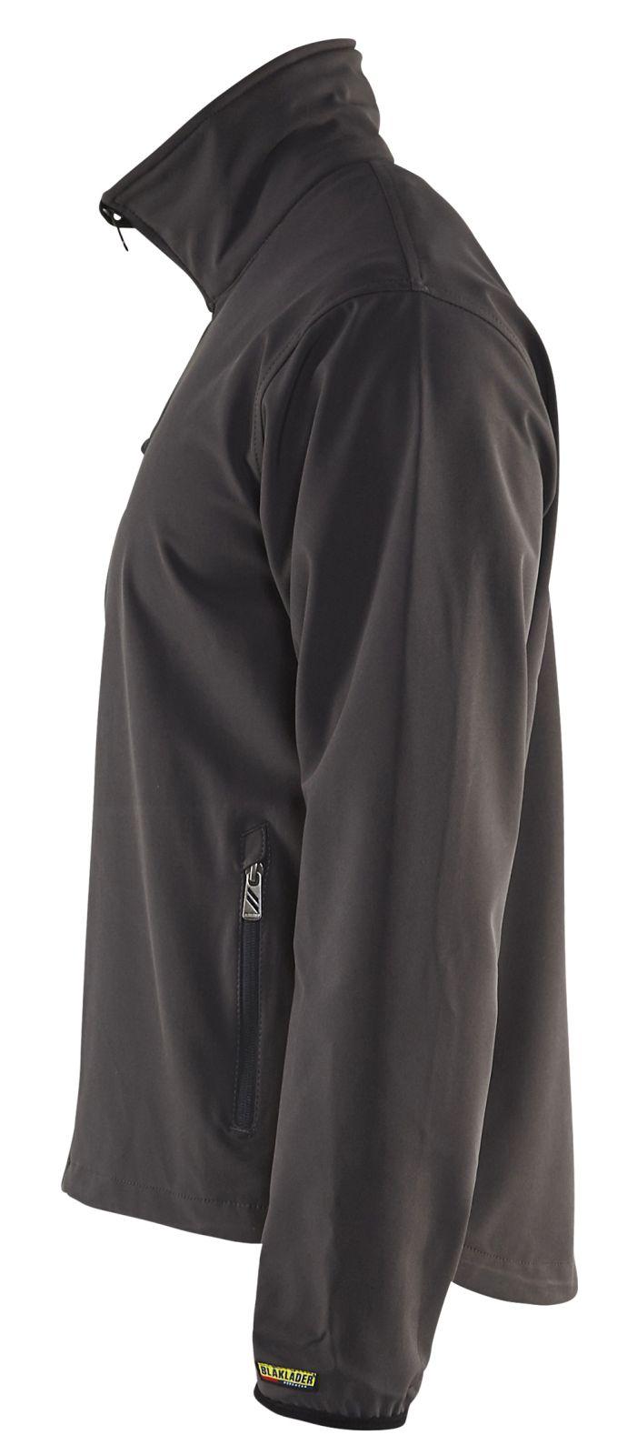 Blaklader Softshell jacks 49522518 donkergrijs-zwart(9799)