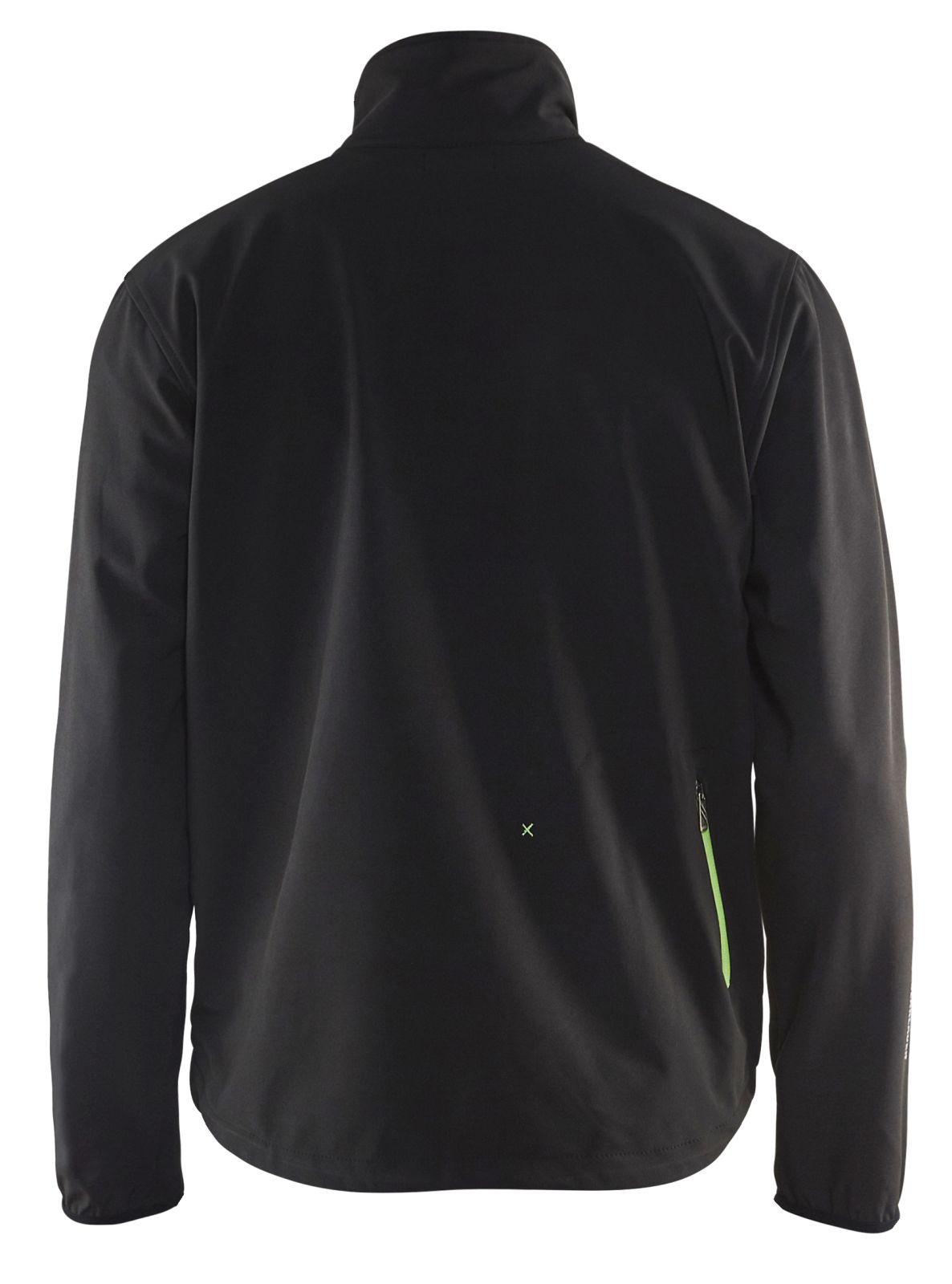 Blaklader Jassen 49522518 zwart-groen(9944)