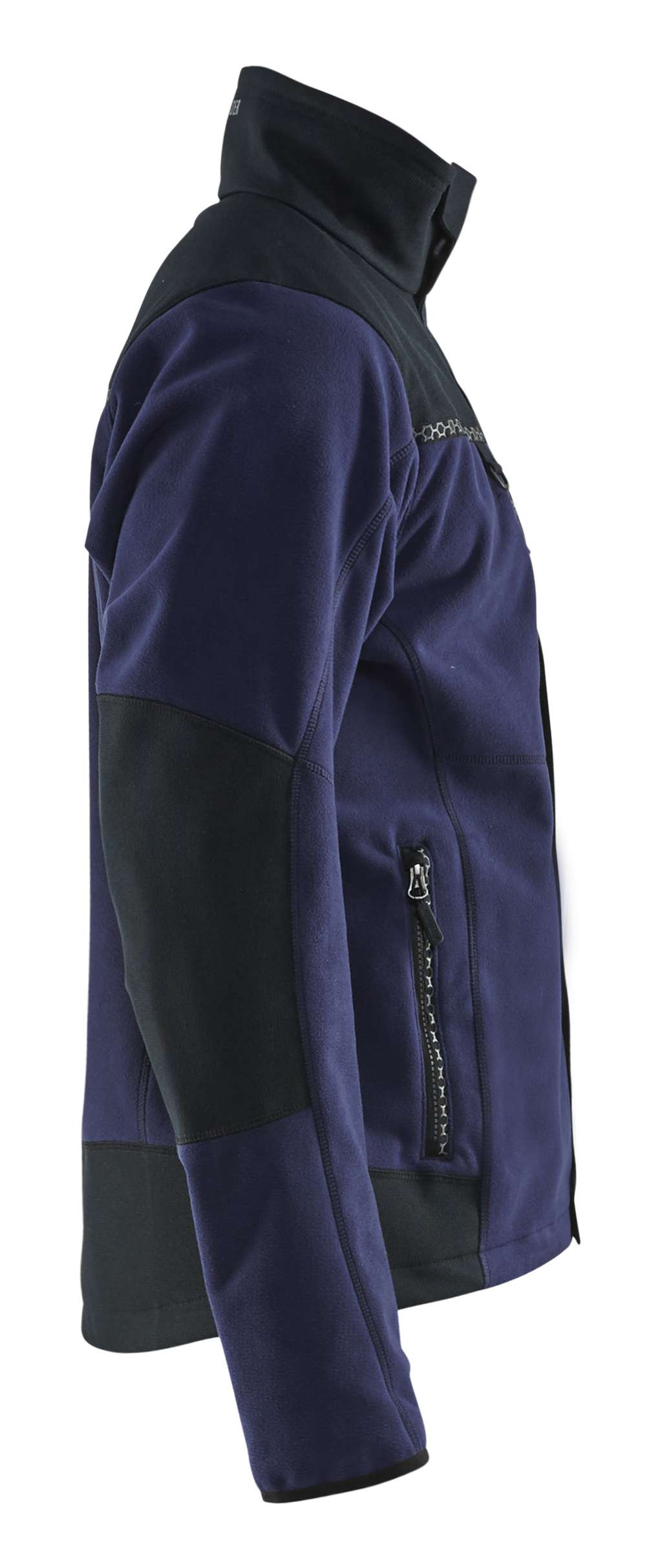 Blaklader Fleece jassen 49552524 marineblauw-zwart(8999)