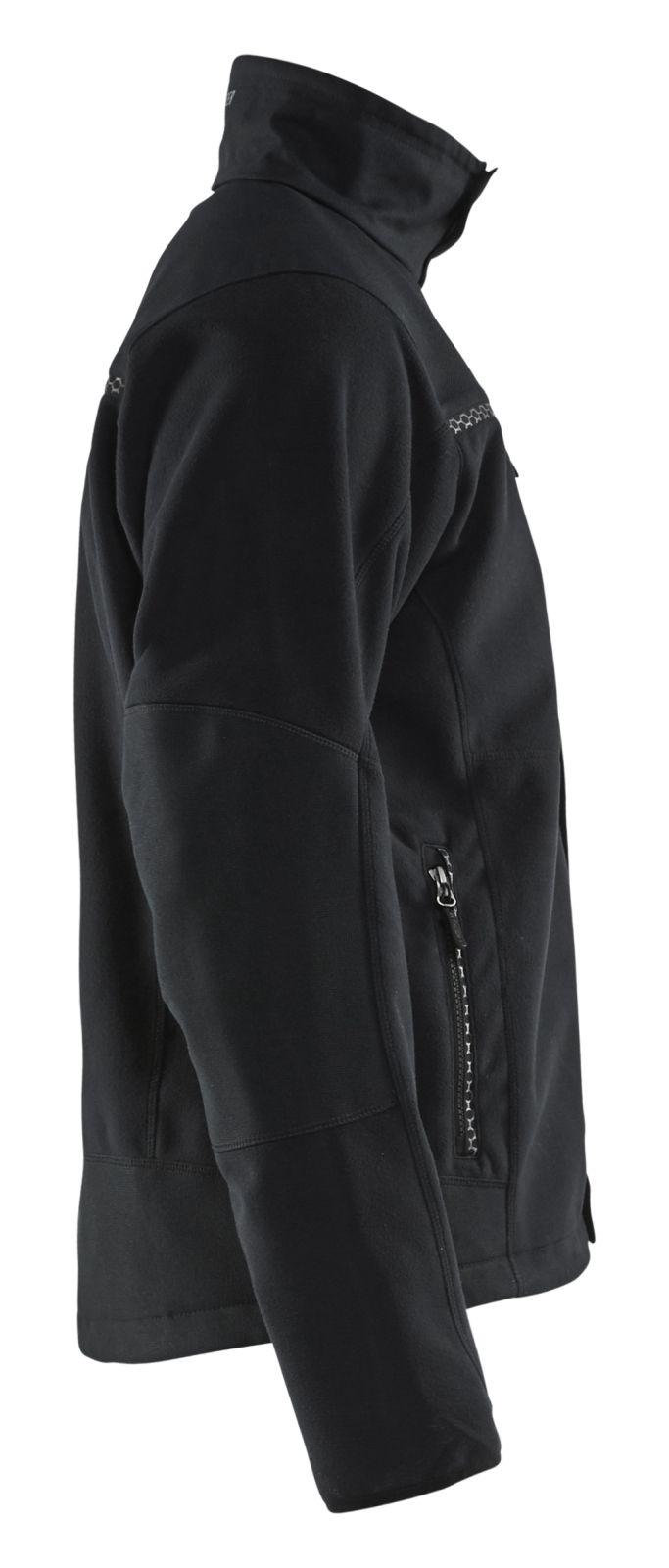 Blaklader Fleece jassen 49552524 zwart(9900)