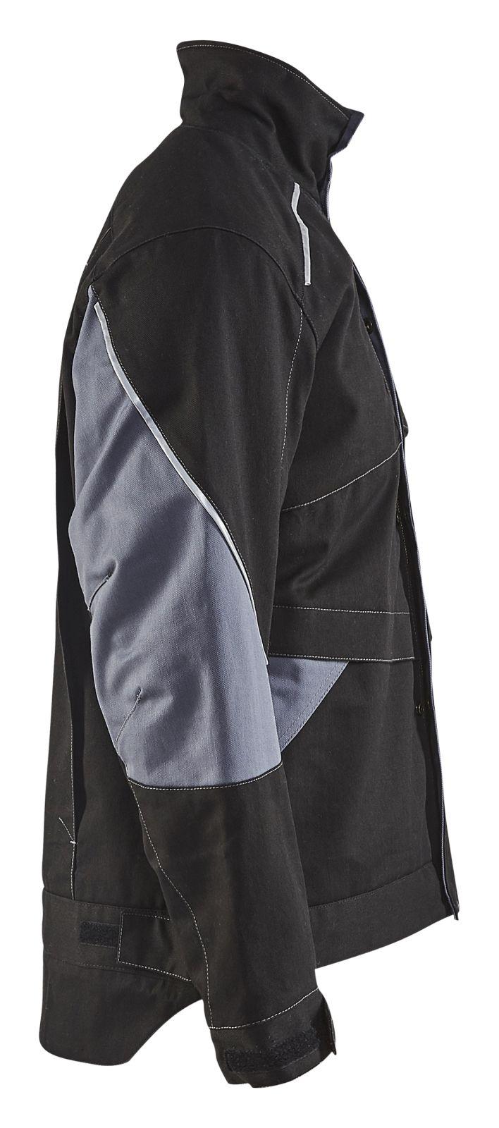 Blaklader Jassen 49611516 Vlamvertragend zwart-grijs(9994)